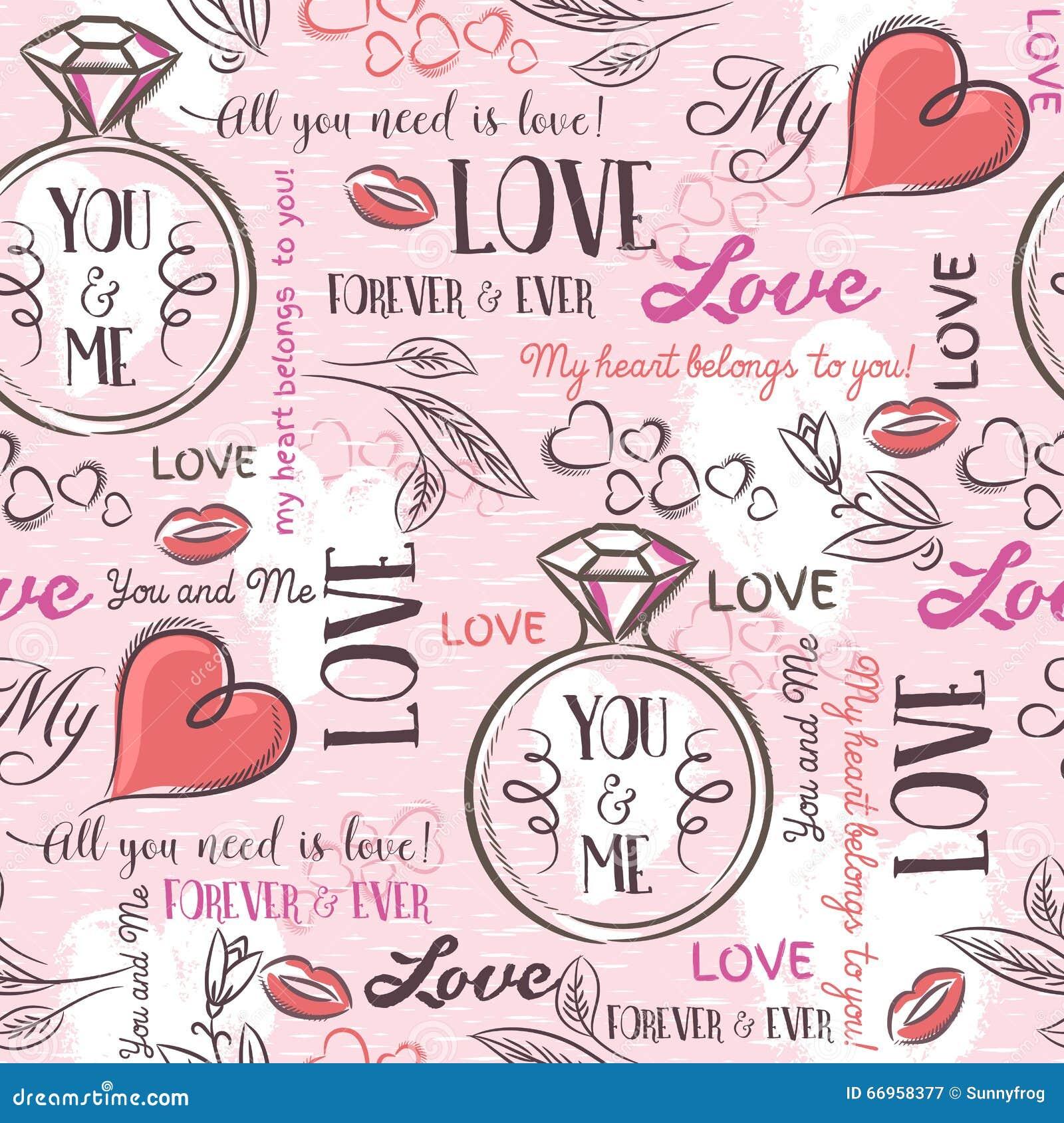 Różowy tło z valentine sercem, kwiat, pierścionek zaręczynowy