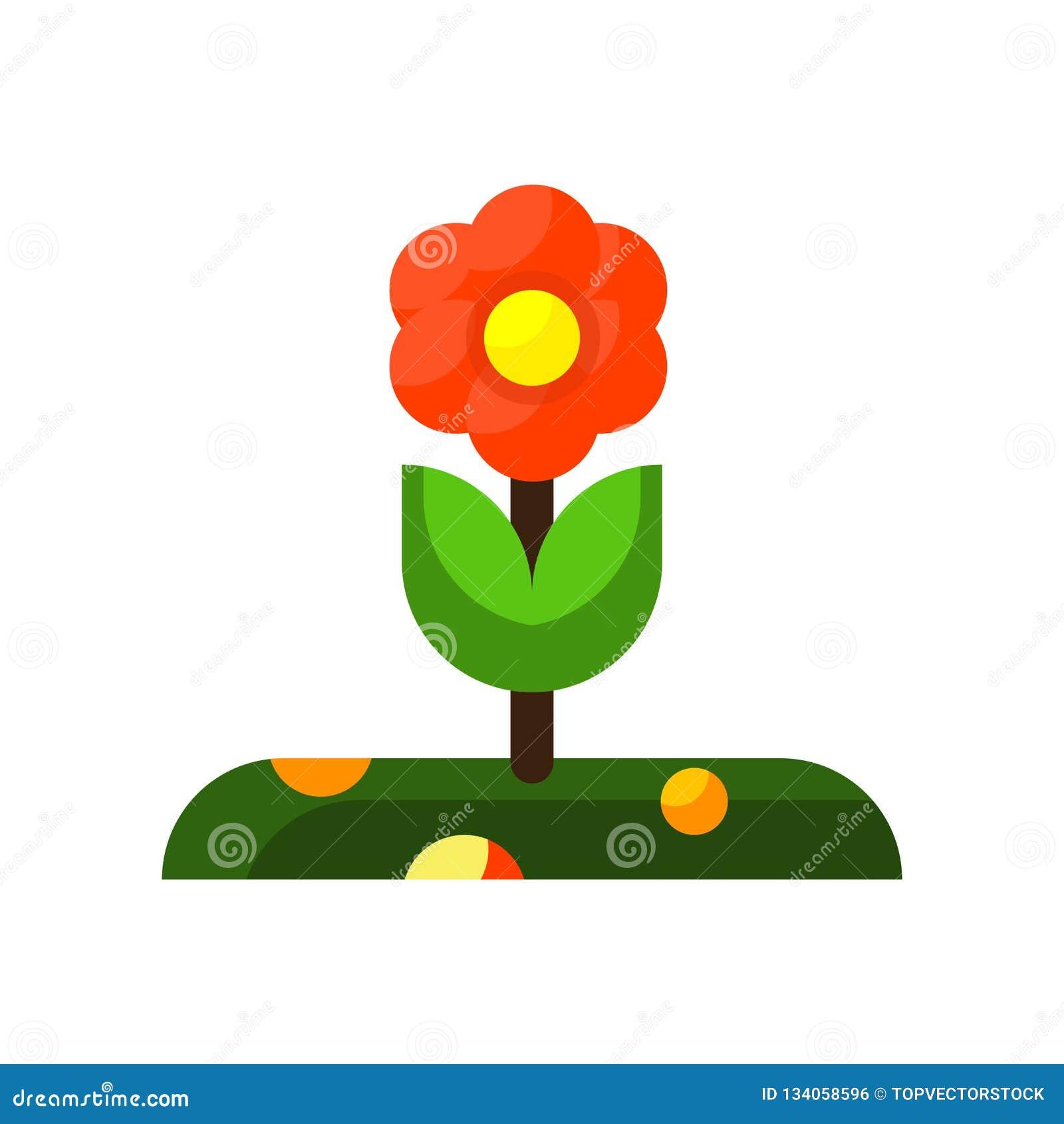 Róży ikony wektor odizolowywający na białym tle, róże podpisuje, kolorowi symbole