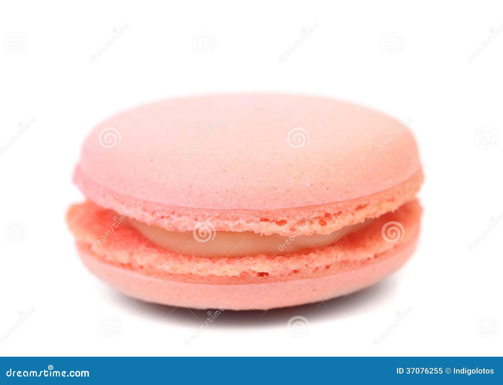 Download Różowi macaron torty. obraz stock. Obraz złożonej z kawa - 37076255