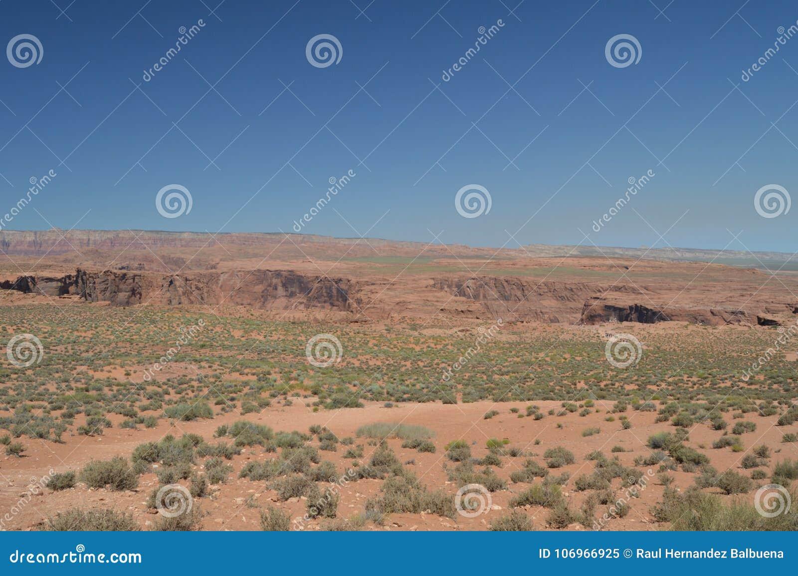 Równina Która Bierze My konia buta chył arizona Colorado podkowy rzeka usa geom