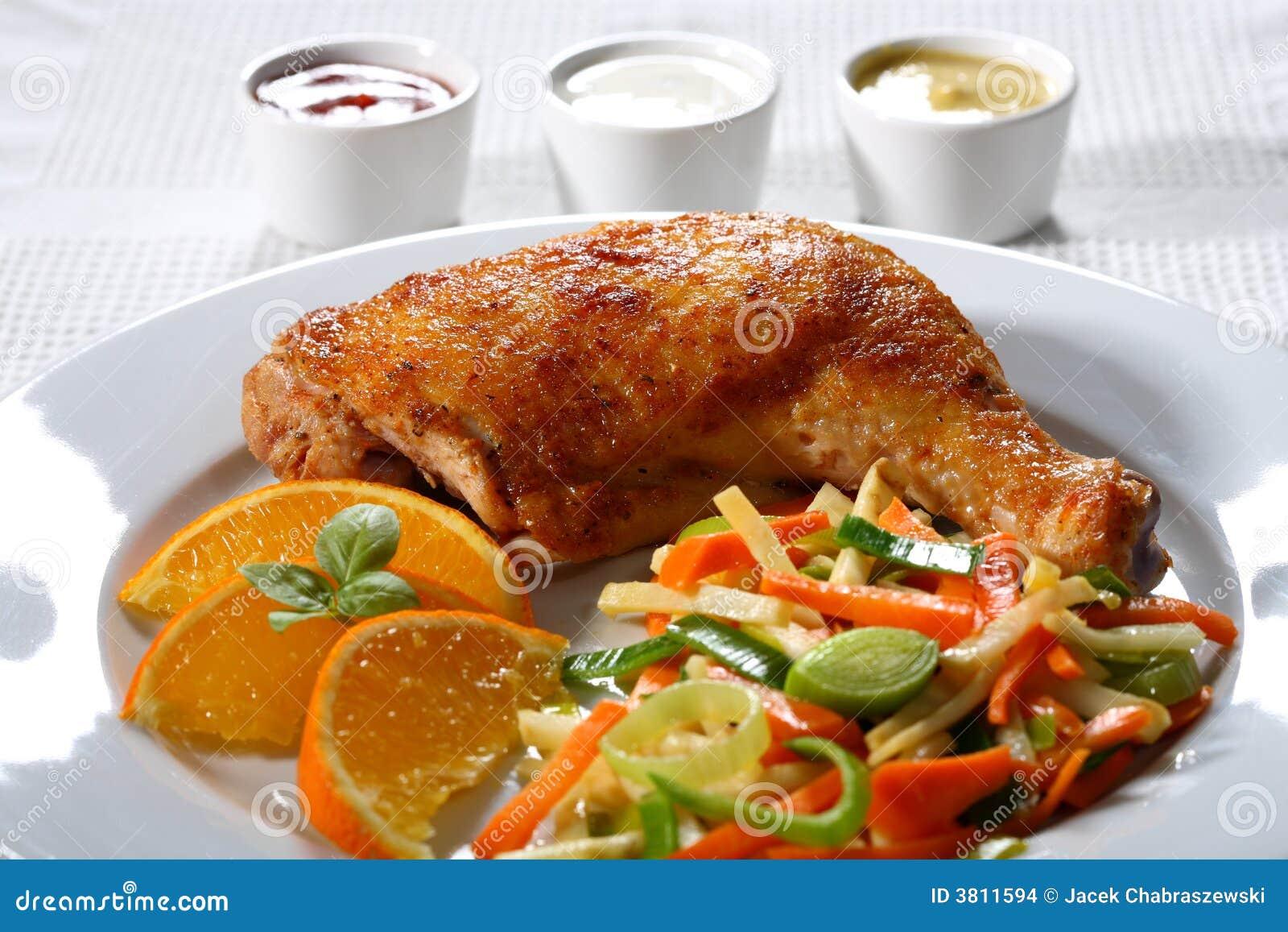 Rôti de poulet
