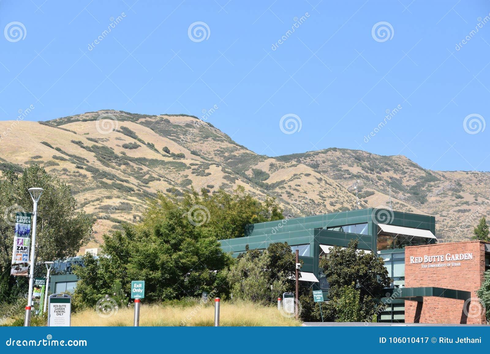 Röd Butteträdgård och Arboretum i Utah