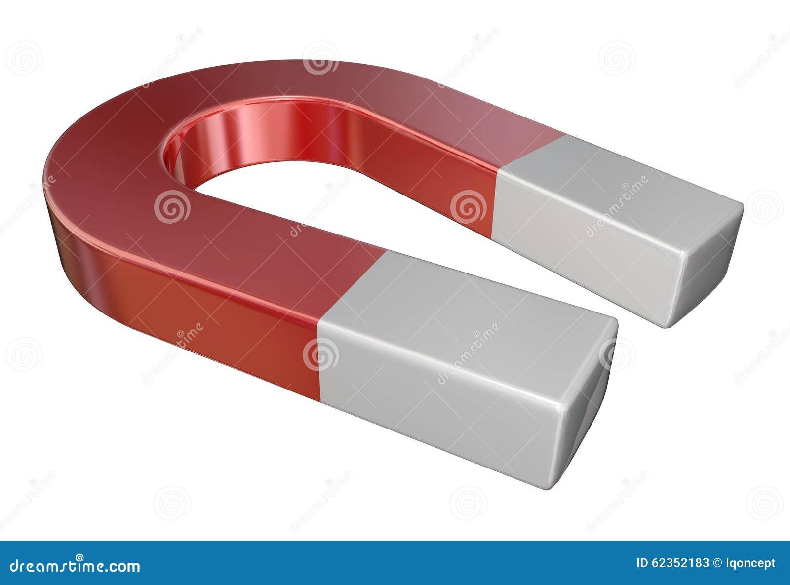 Röd dragning för metallmagnetvetenskap