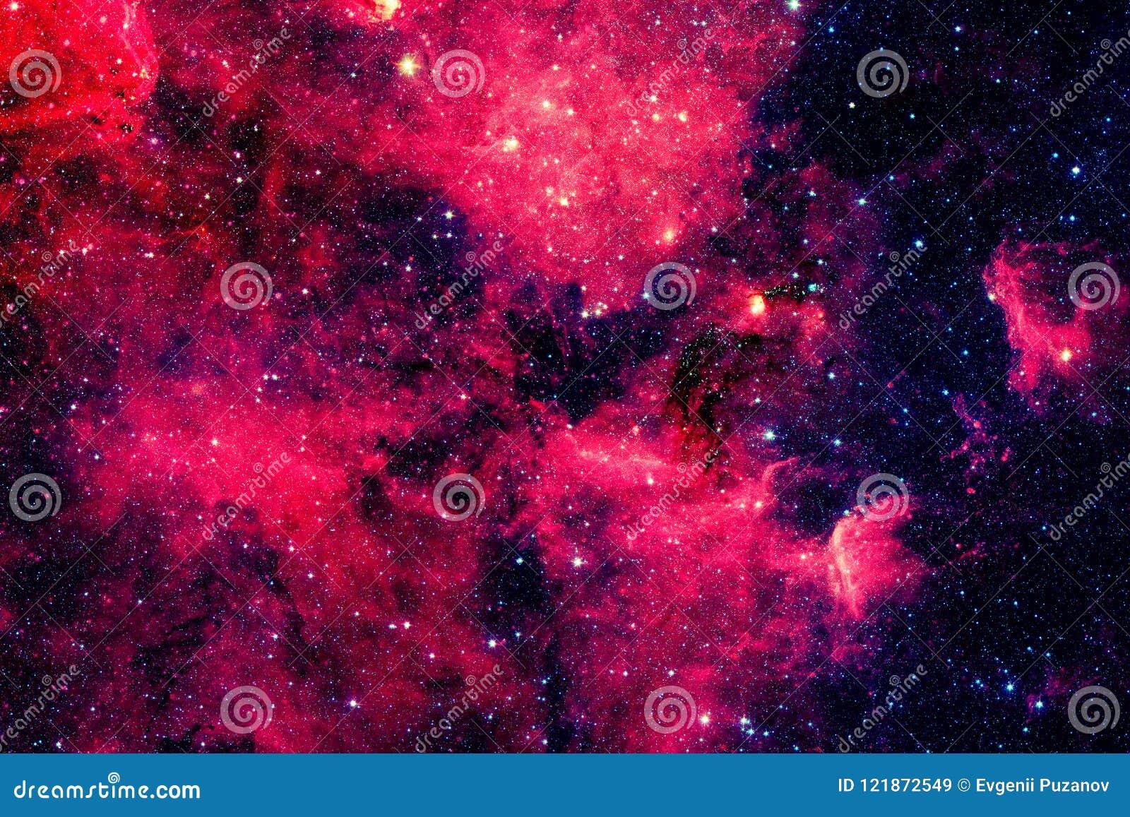 Röd galax Beståndsdelar av denna avbildar möblerat av NASA