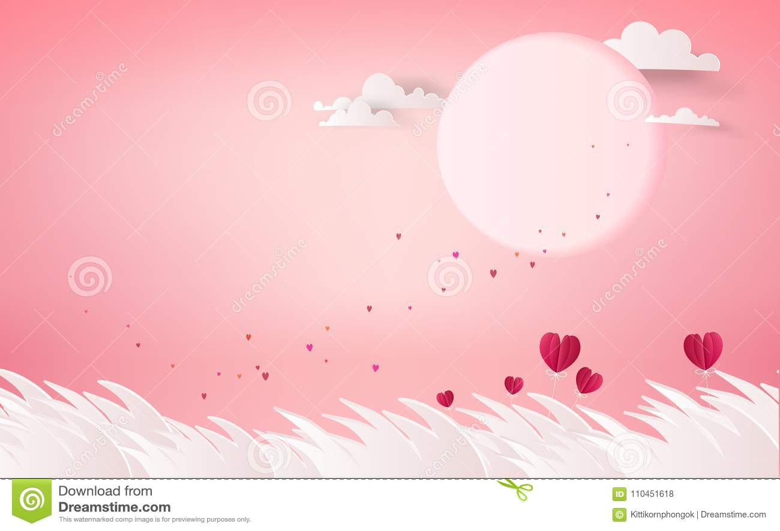 Röd hjärtablomma på rosa bakgrund romans för sommarferier Lo