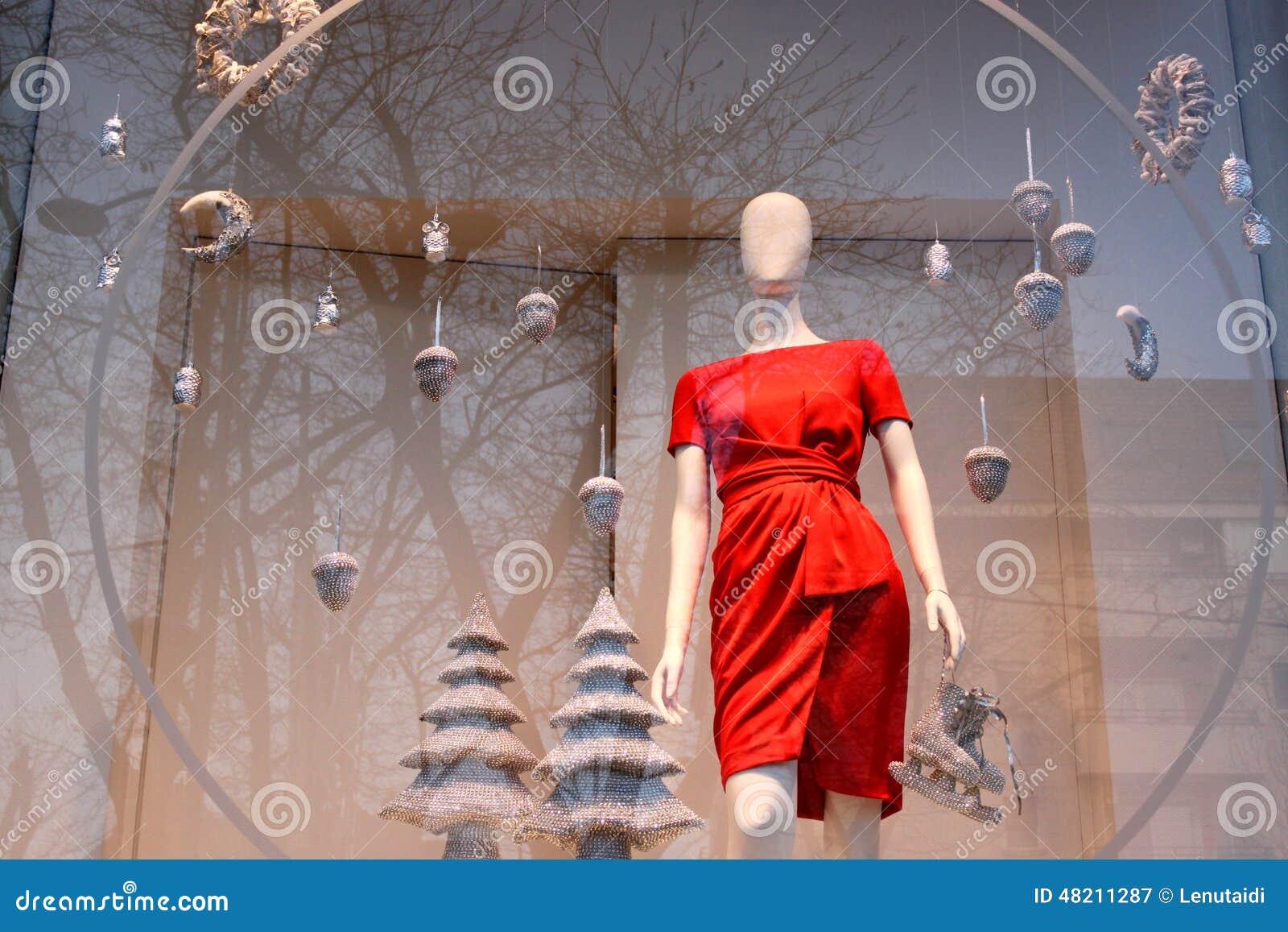 Röd klänning för jul