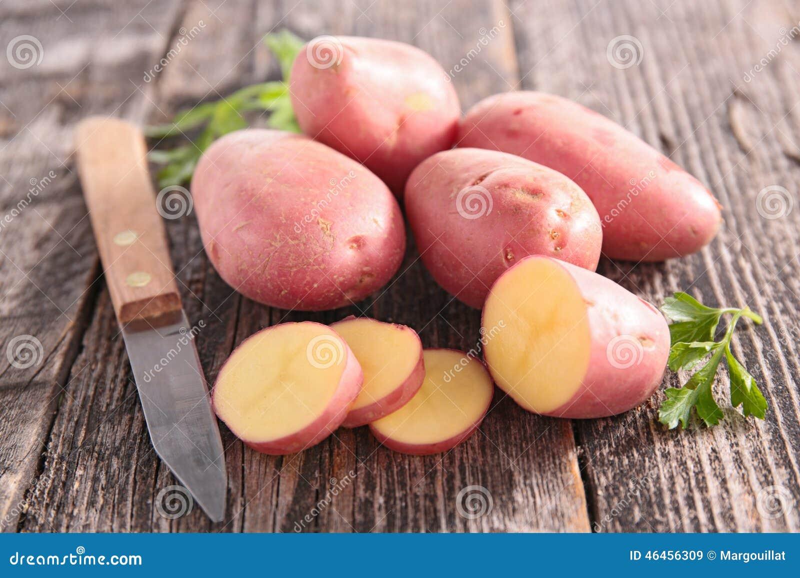 Röd potatis