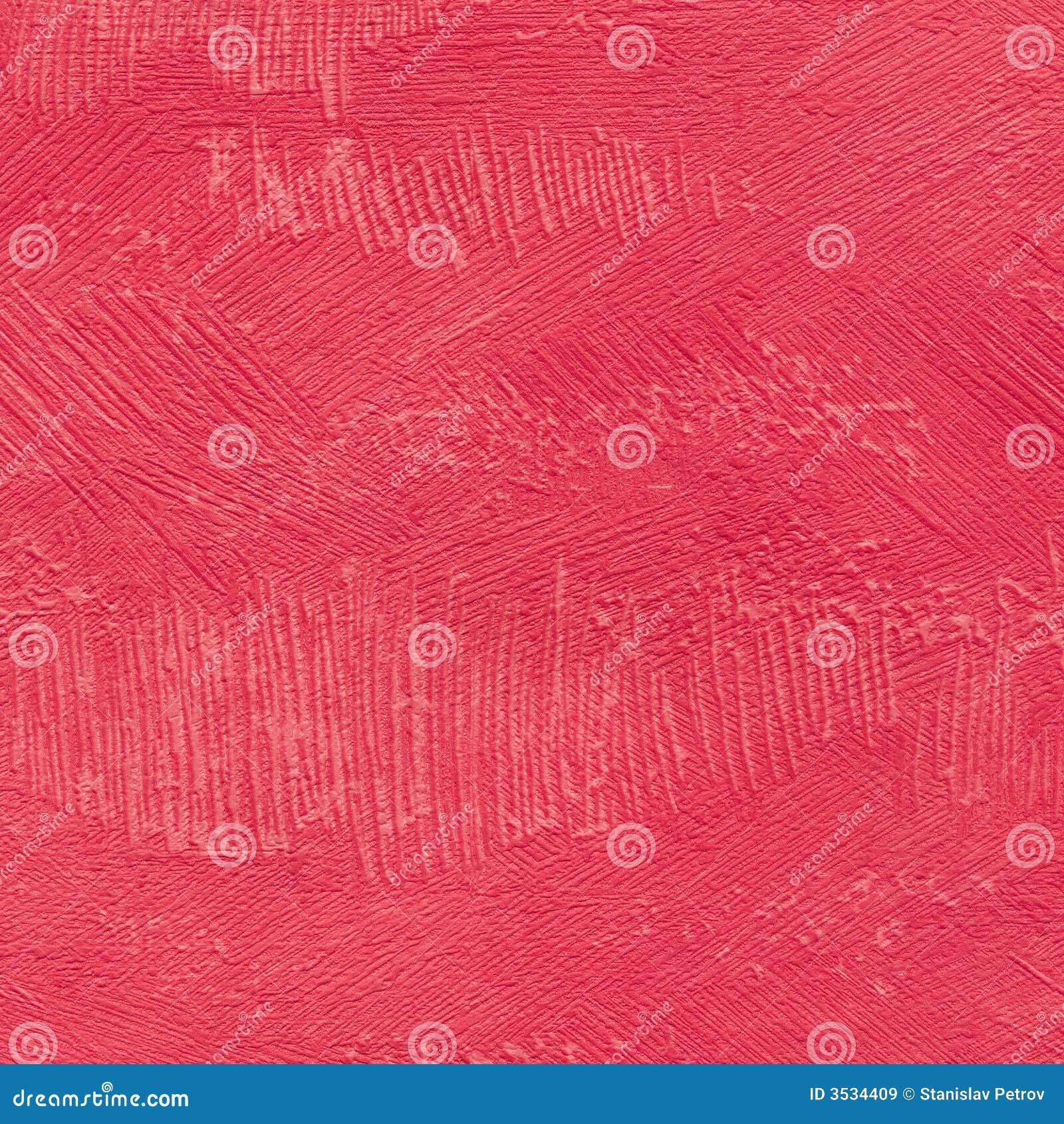 Röd texturvägg