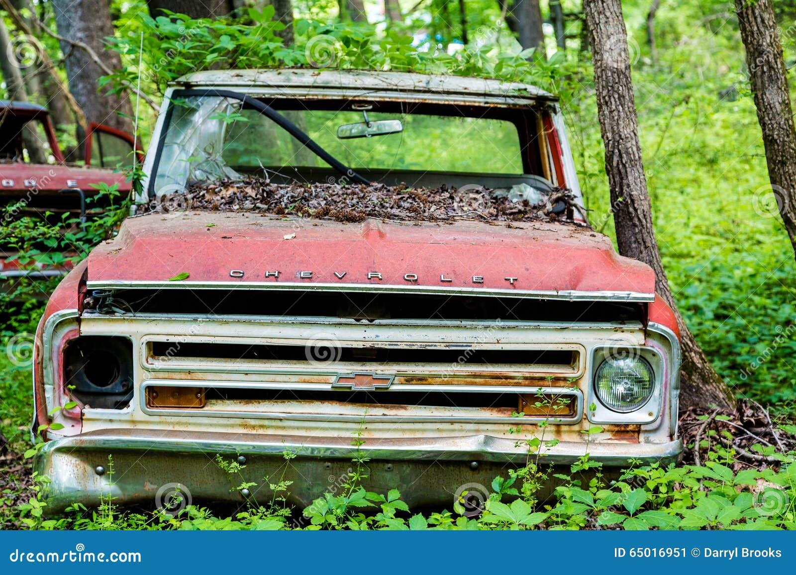 Röda Chevrolet