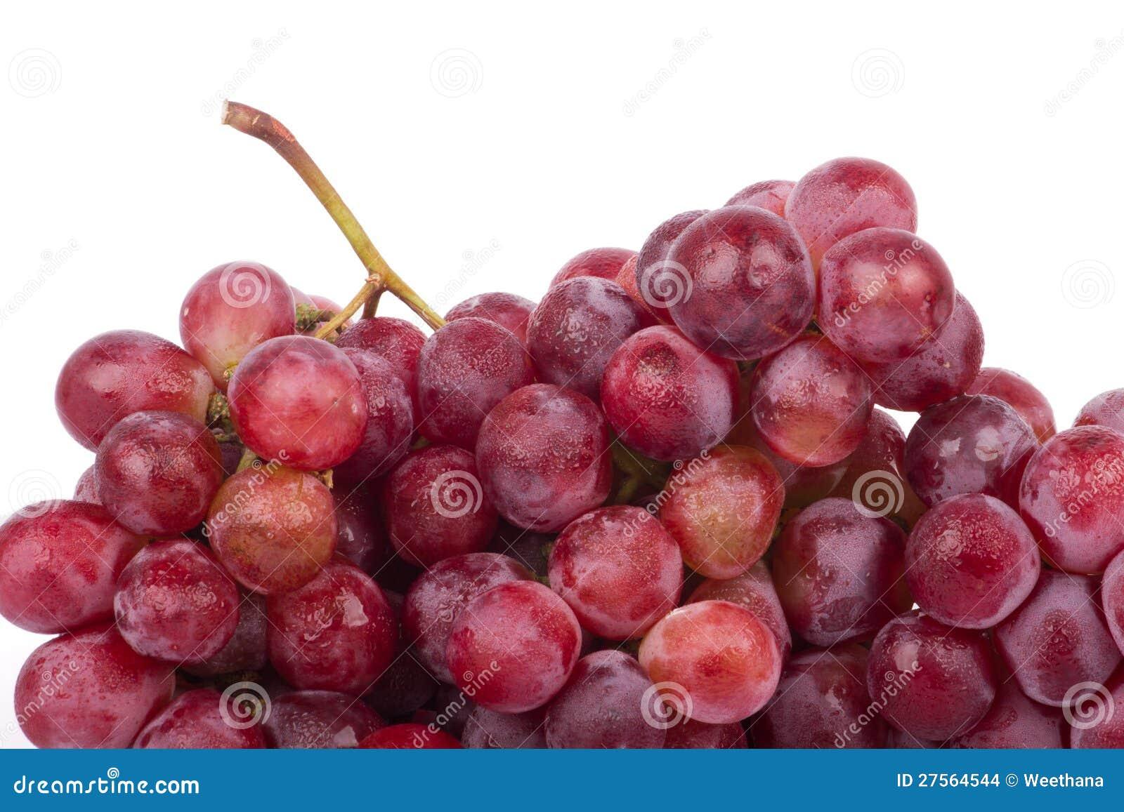 Röda druvor