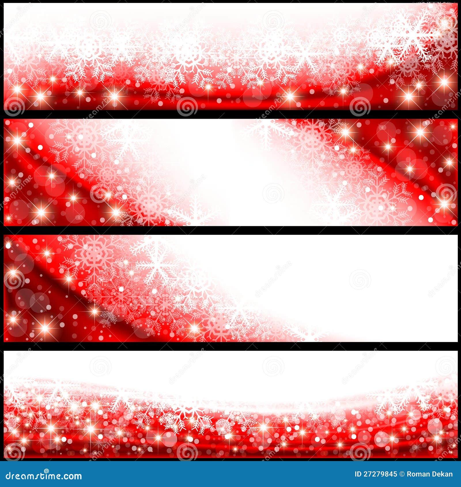 Röda julbaner