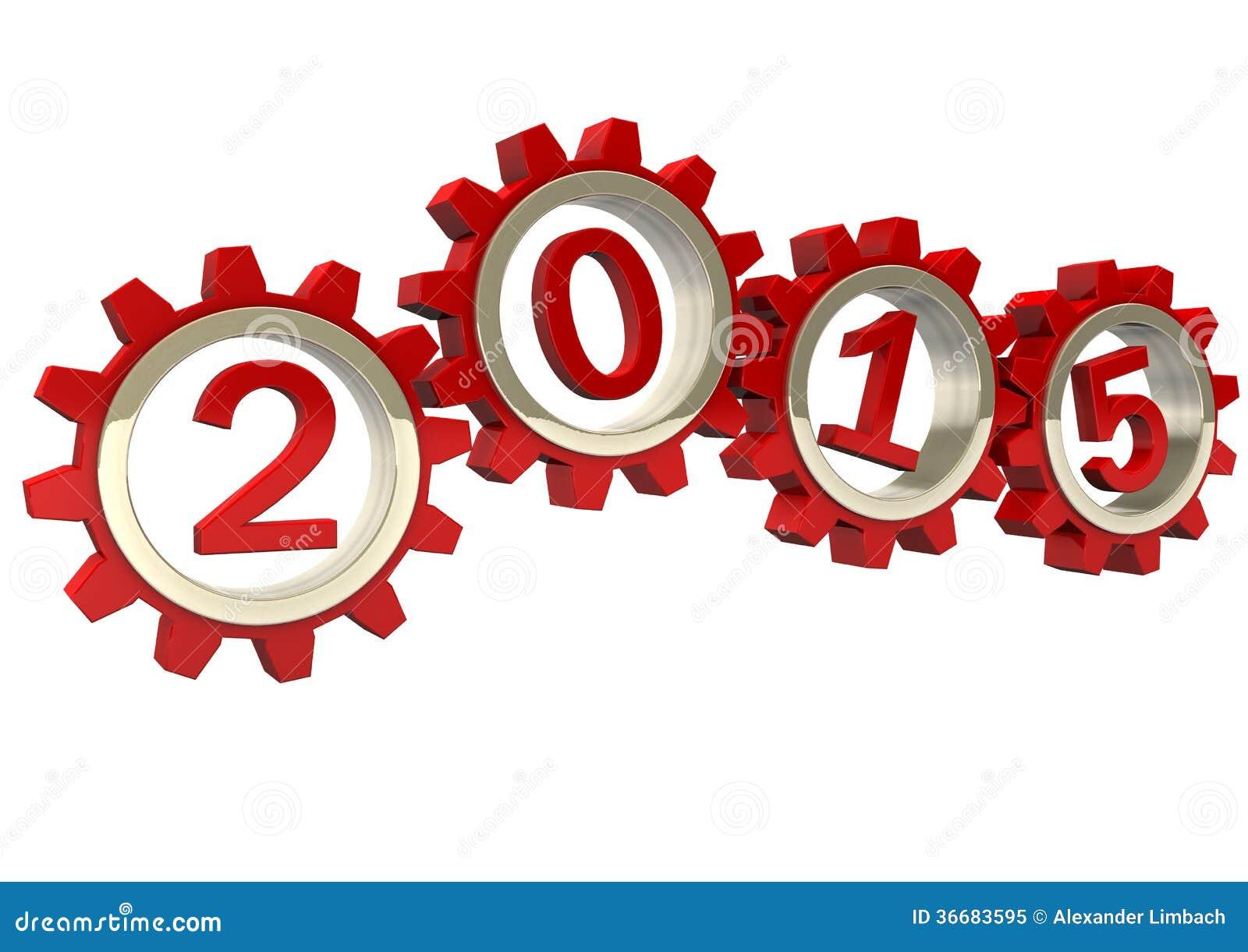 2015 röda kugghjul