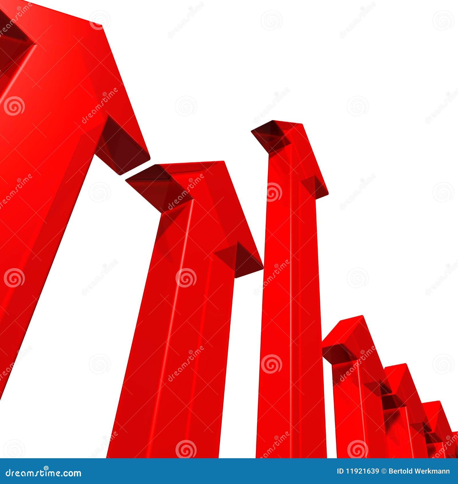 Röda pilar