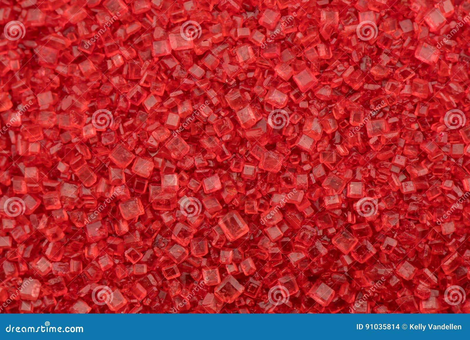 Röda Sugar Close Up