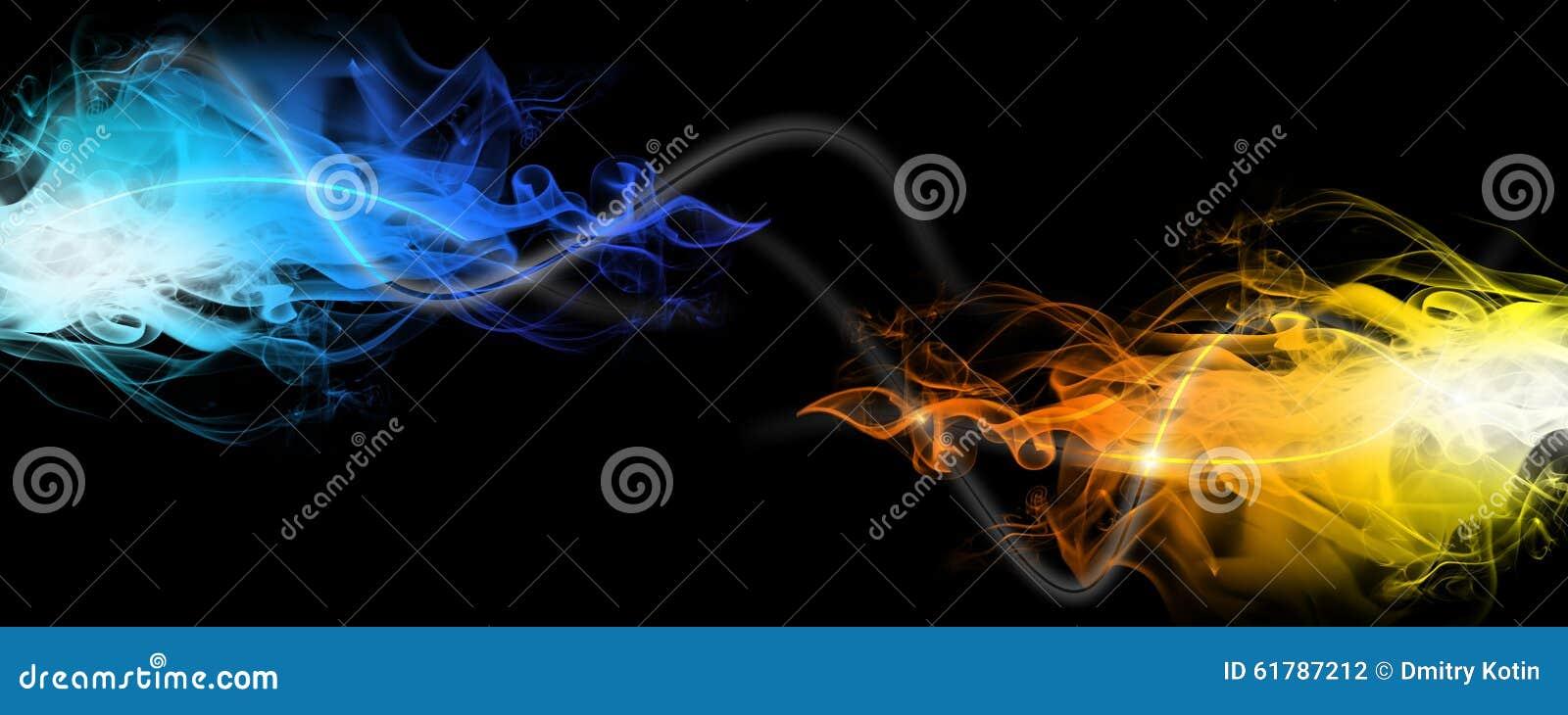 Rök för blå red