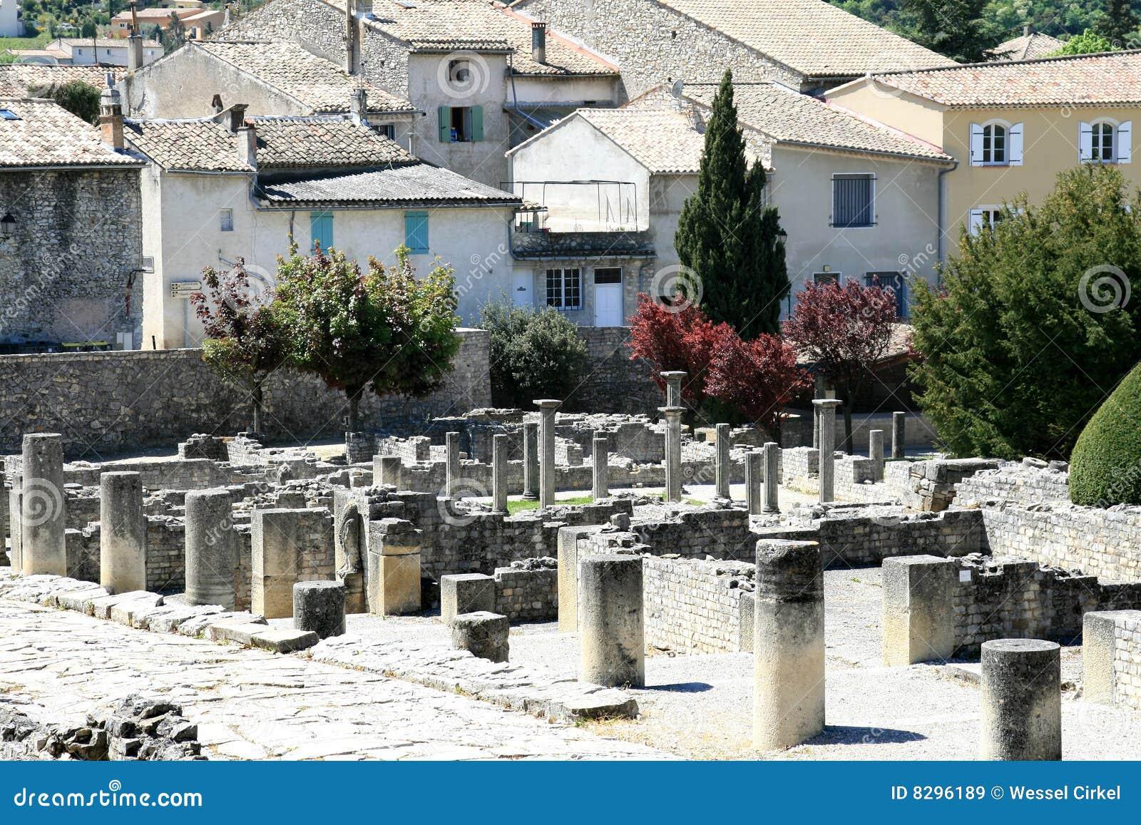 Römische Ruinen in der französischen Provence