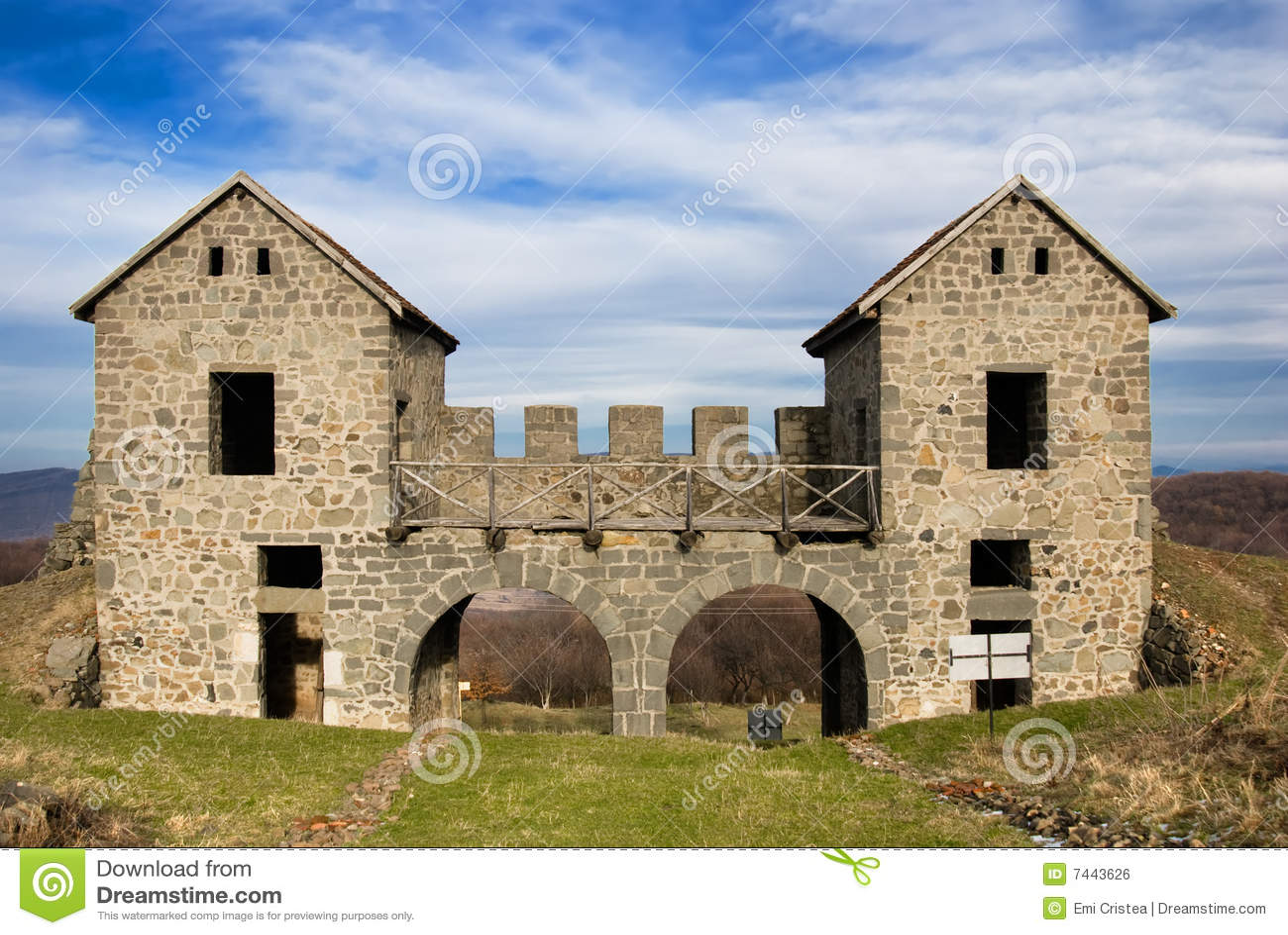 Römische Ruinen Porolissum