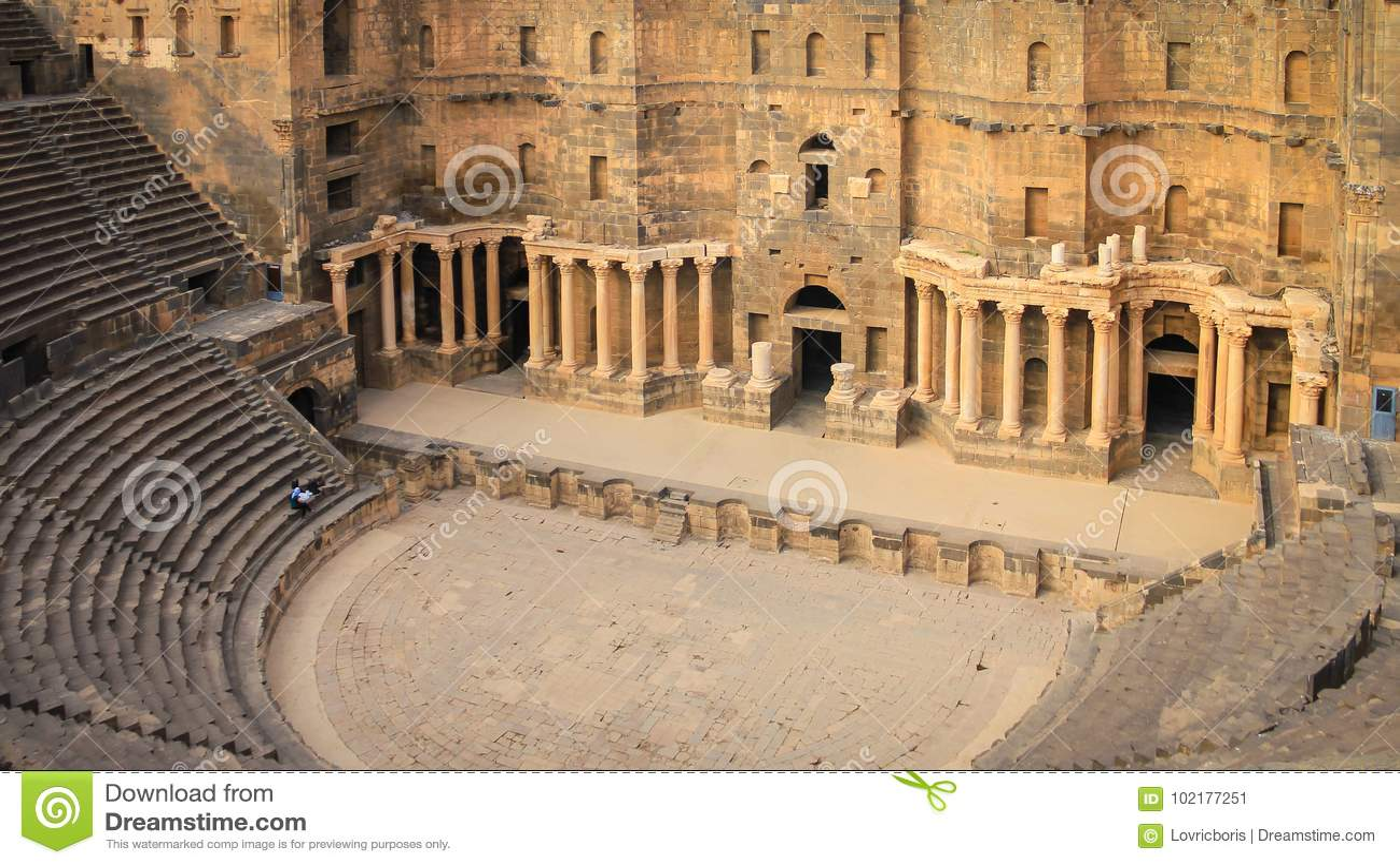 Römisches Amphitheater Bosra - Syrien