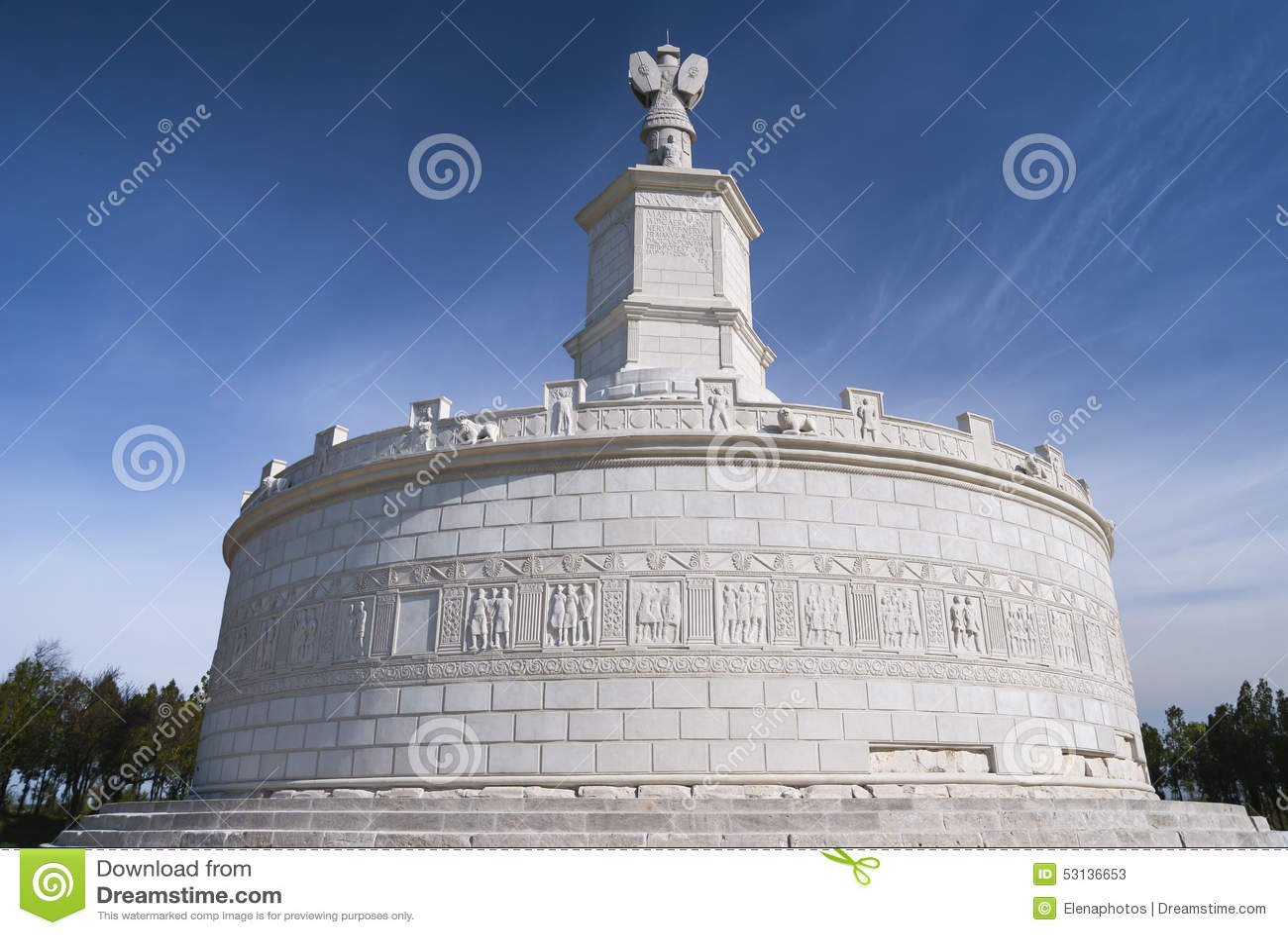 Römisches Monument in Adamclisi, Rumänien