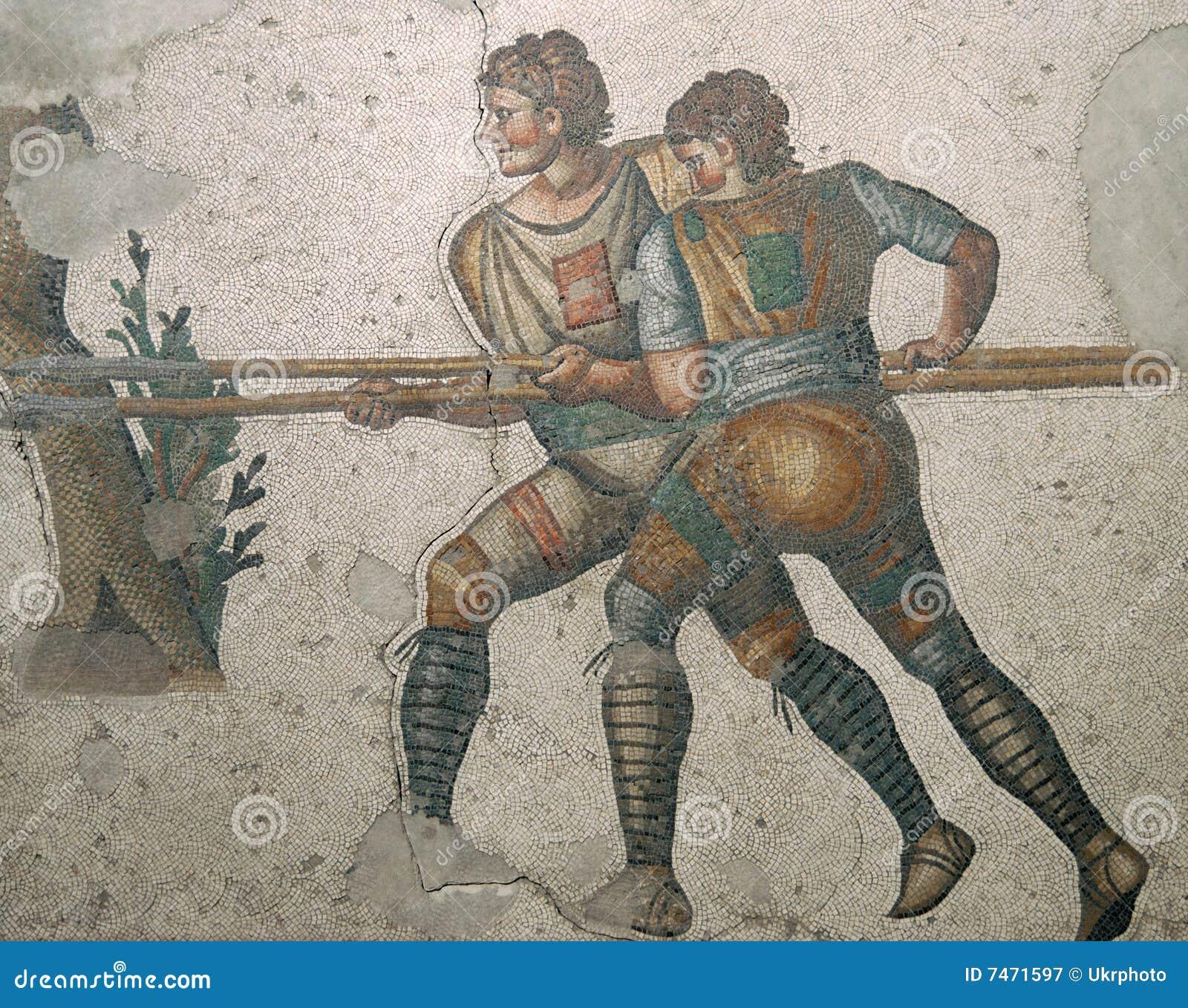 Römisches Mosaik in Istanbul
