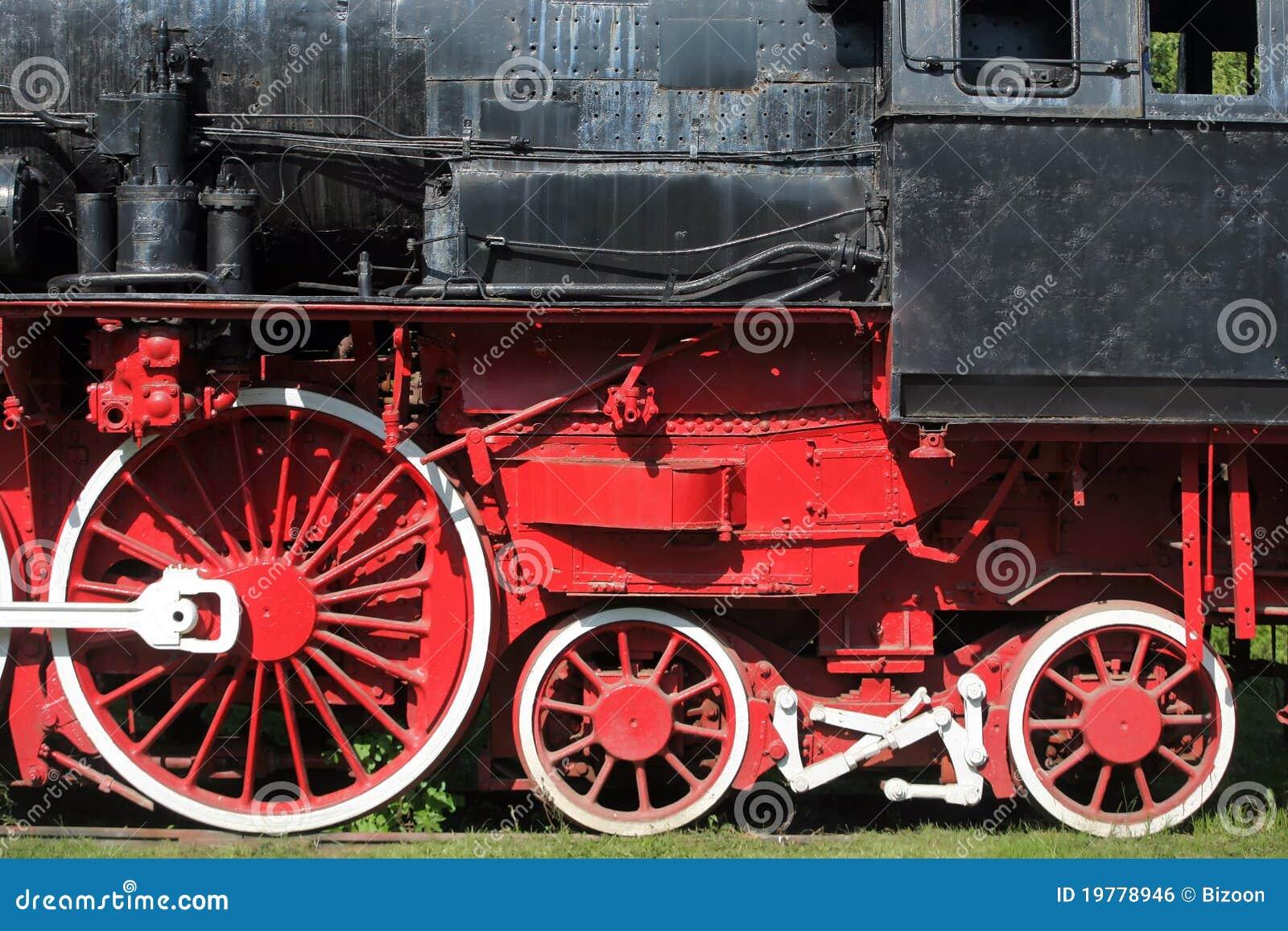 Rörliga ångahjul