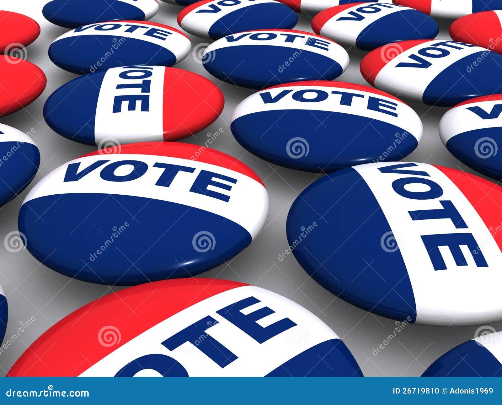 Rösta knappar