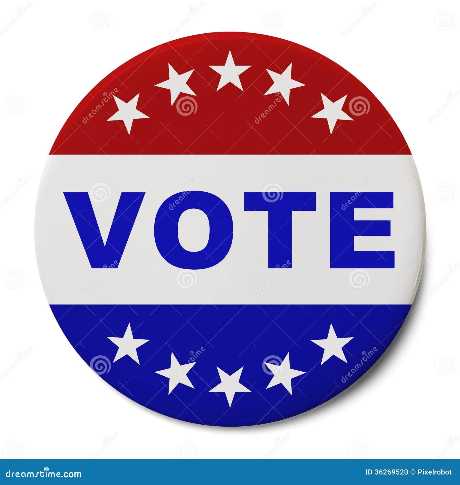 Rösta knappen