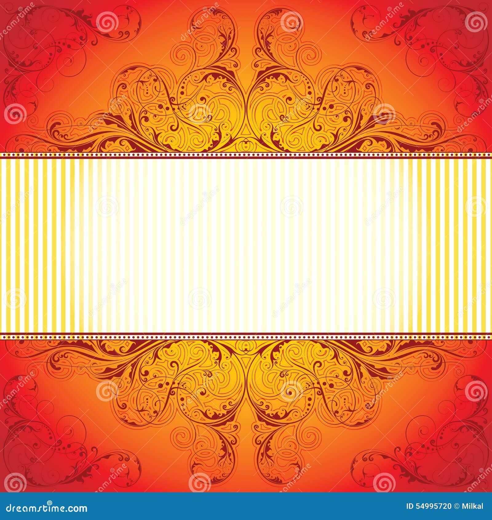 Rött mönstra bakgrund