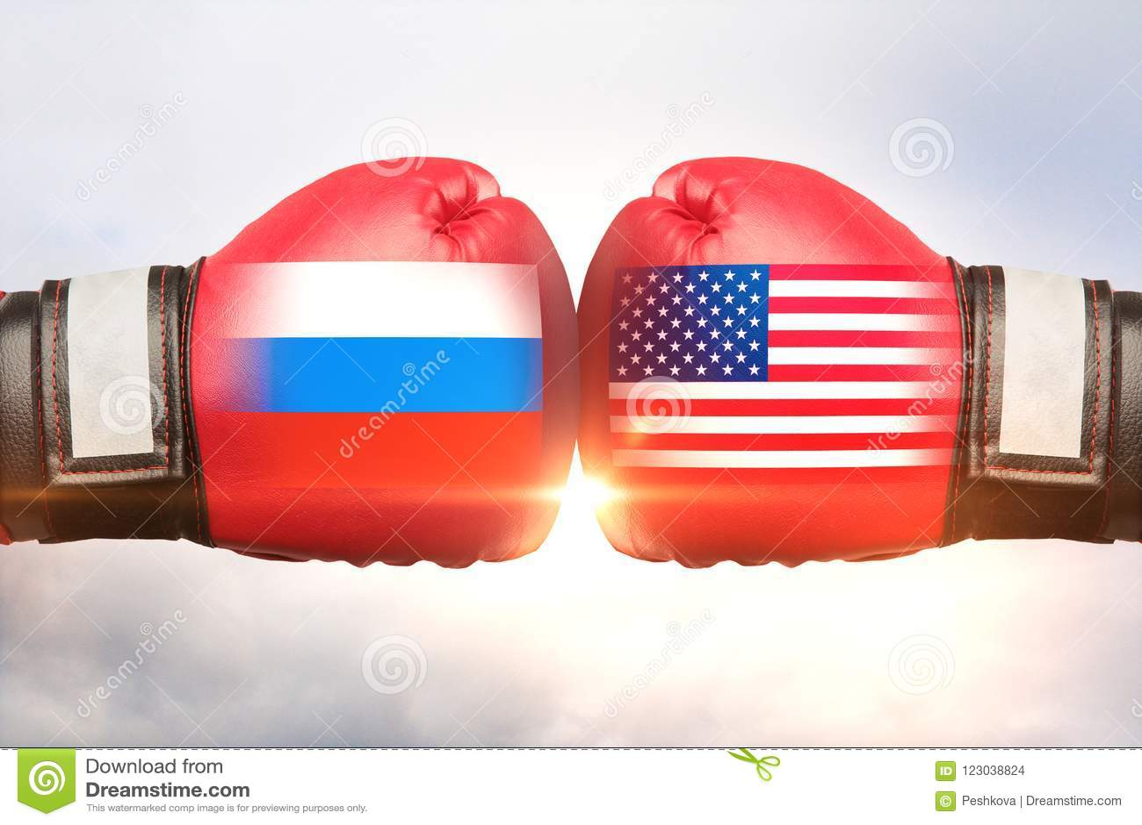 Rússia contra o conceito dos EUA