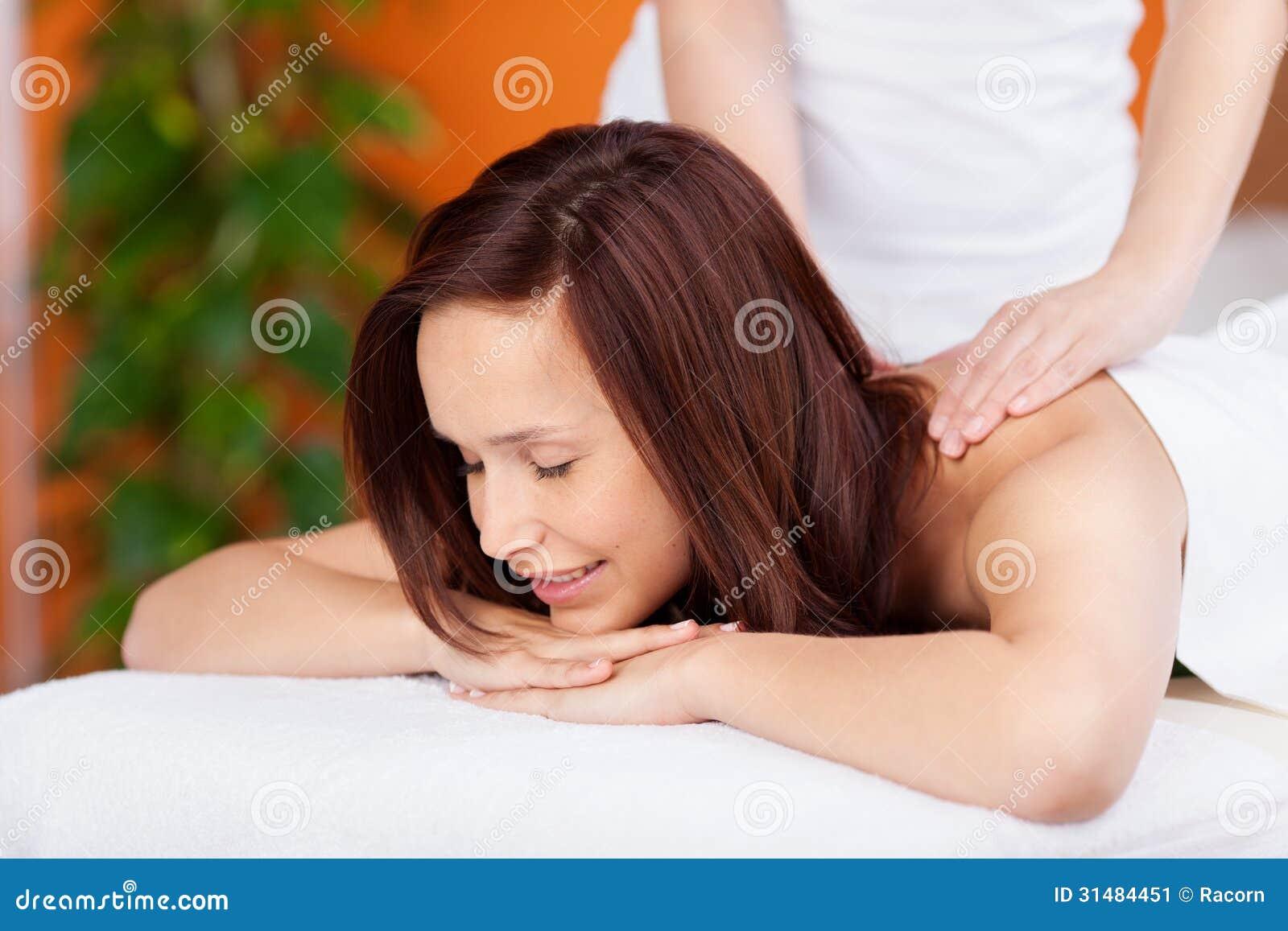 Rückenmassage