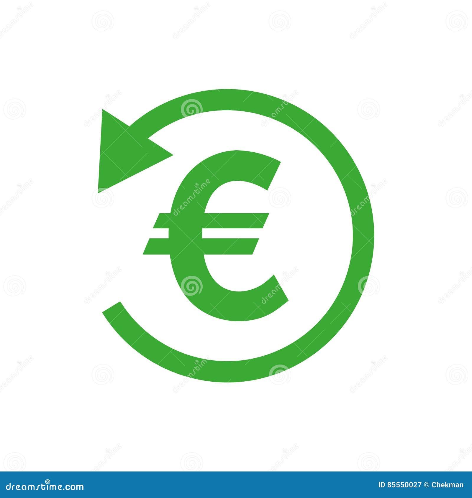 Rückerstattungsgeldikone Auch im corel abgehobenen Betrag