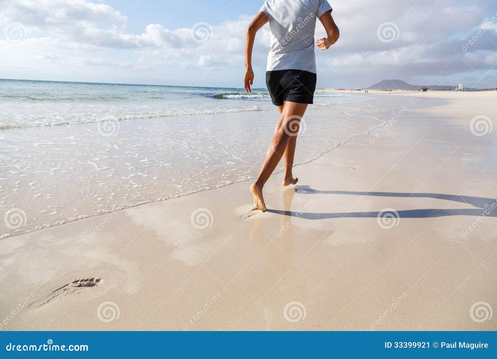 Rütteln auf Strand