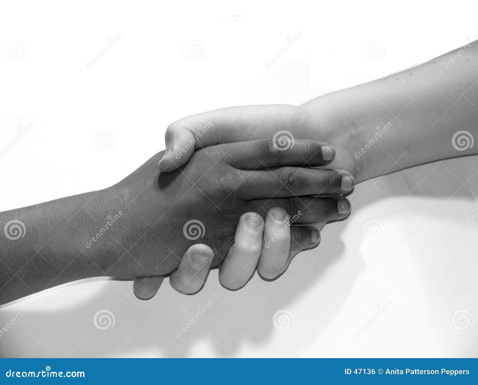 Rütteln der Hände