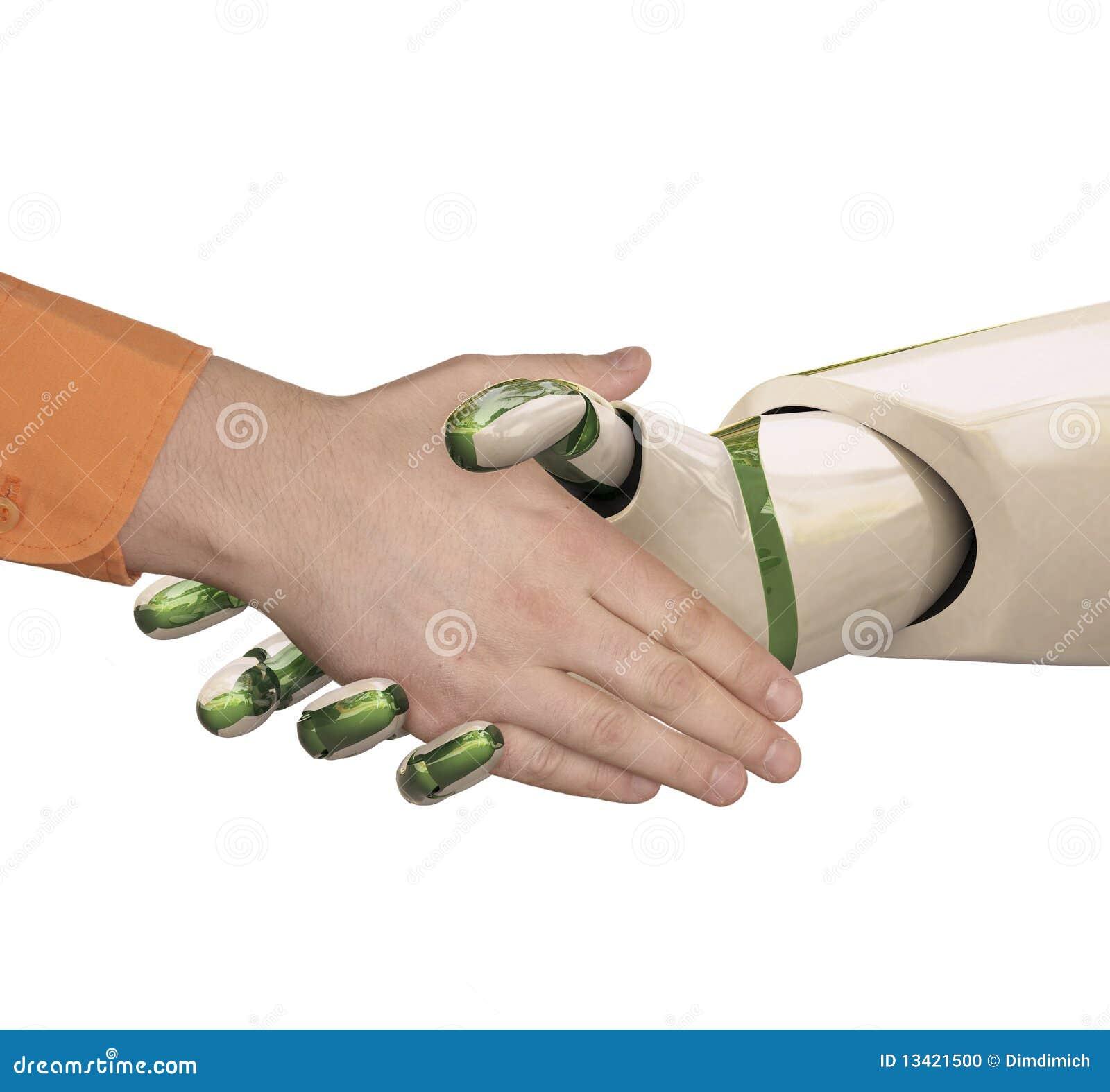Rütteln Sie Hände