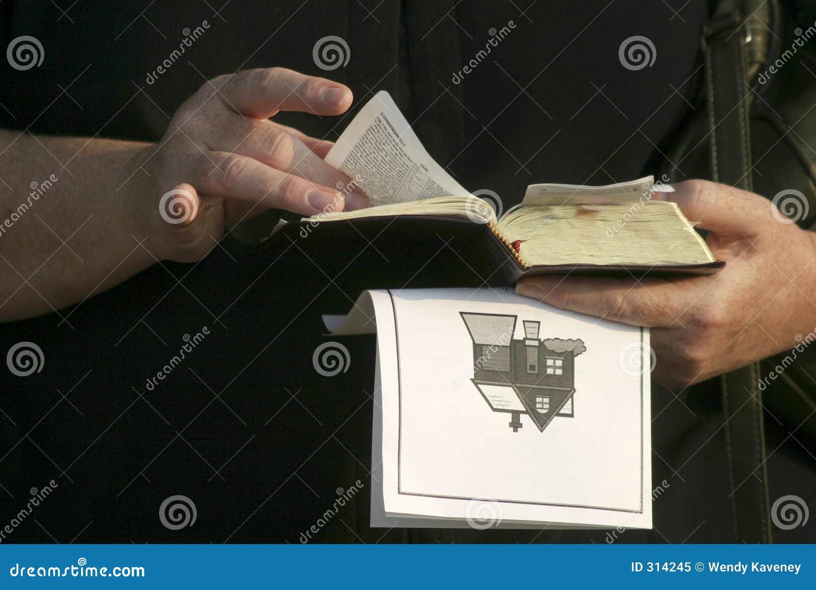 Ręce biblii