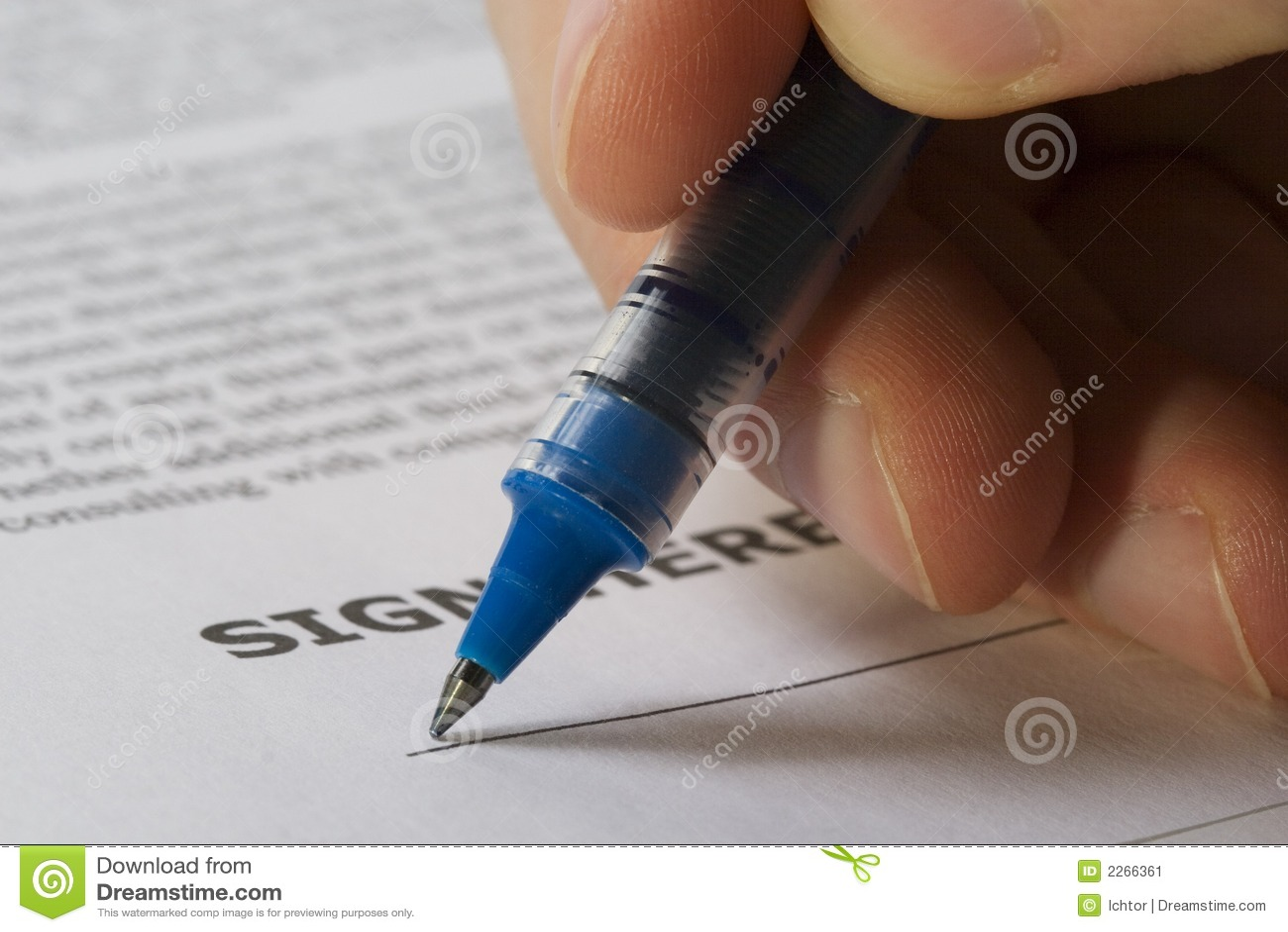 Ręce tu podpisać