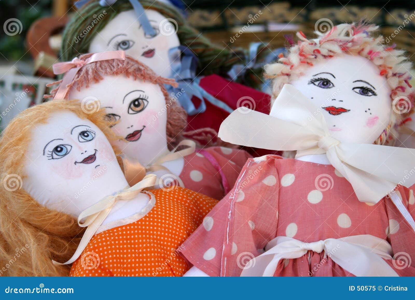 Ręczna robota lalki.