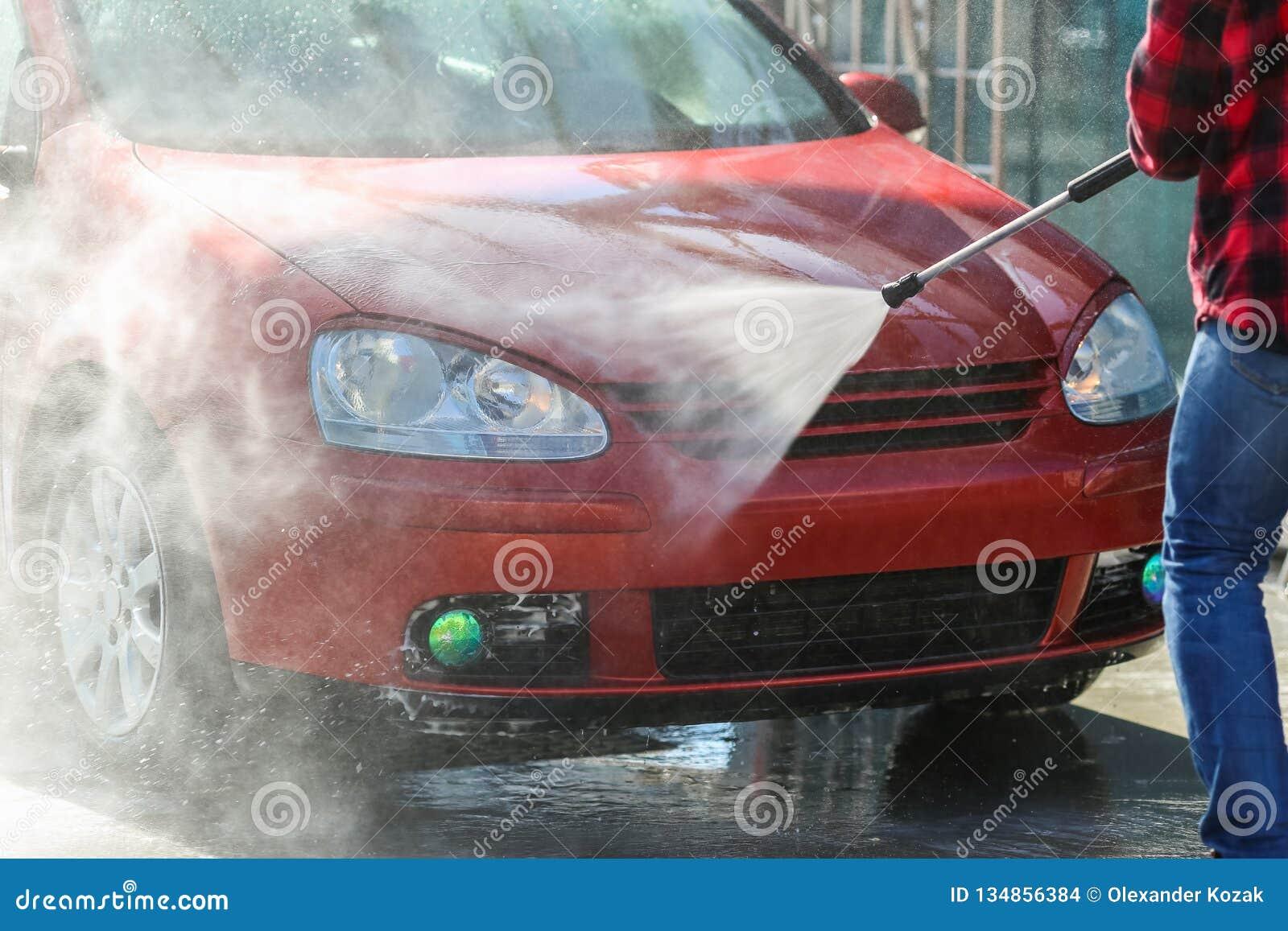 Ręczny samochodowy obmycie z pressurized wodą outside w samochodowym obmyciu Summe domycie Cleaning wysokości naciska Samochodowa