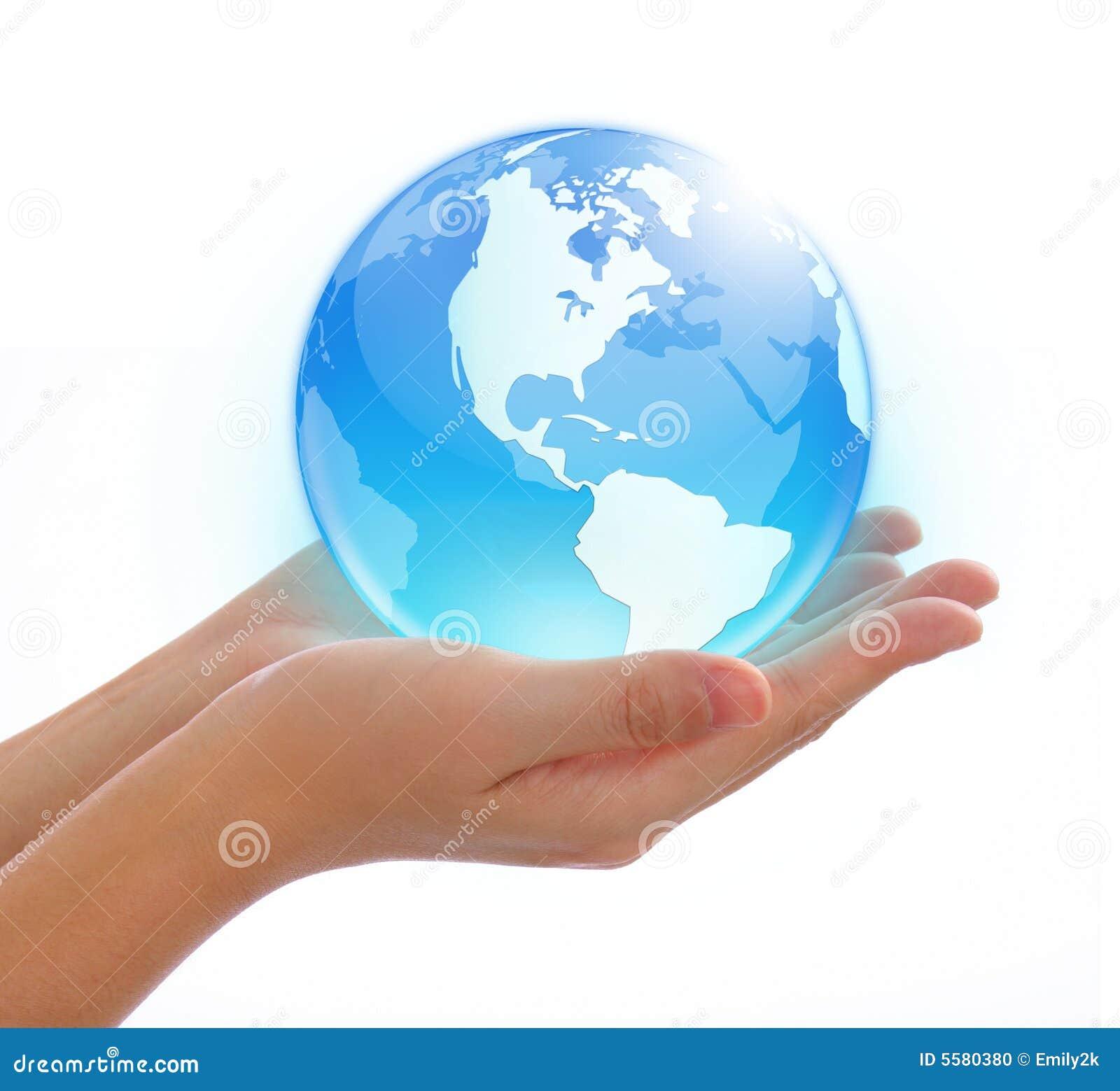 Ręka świat