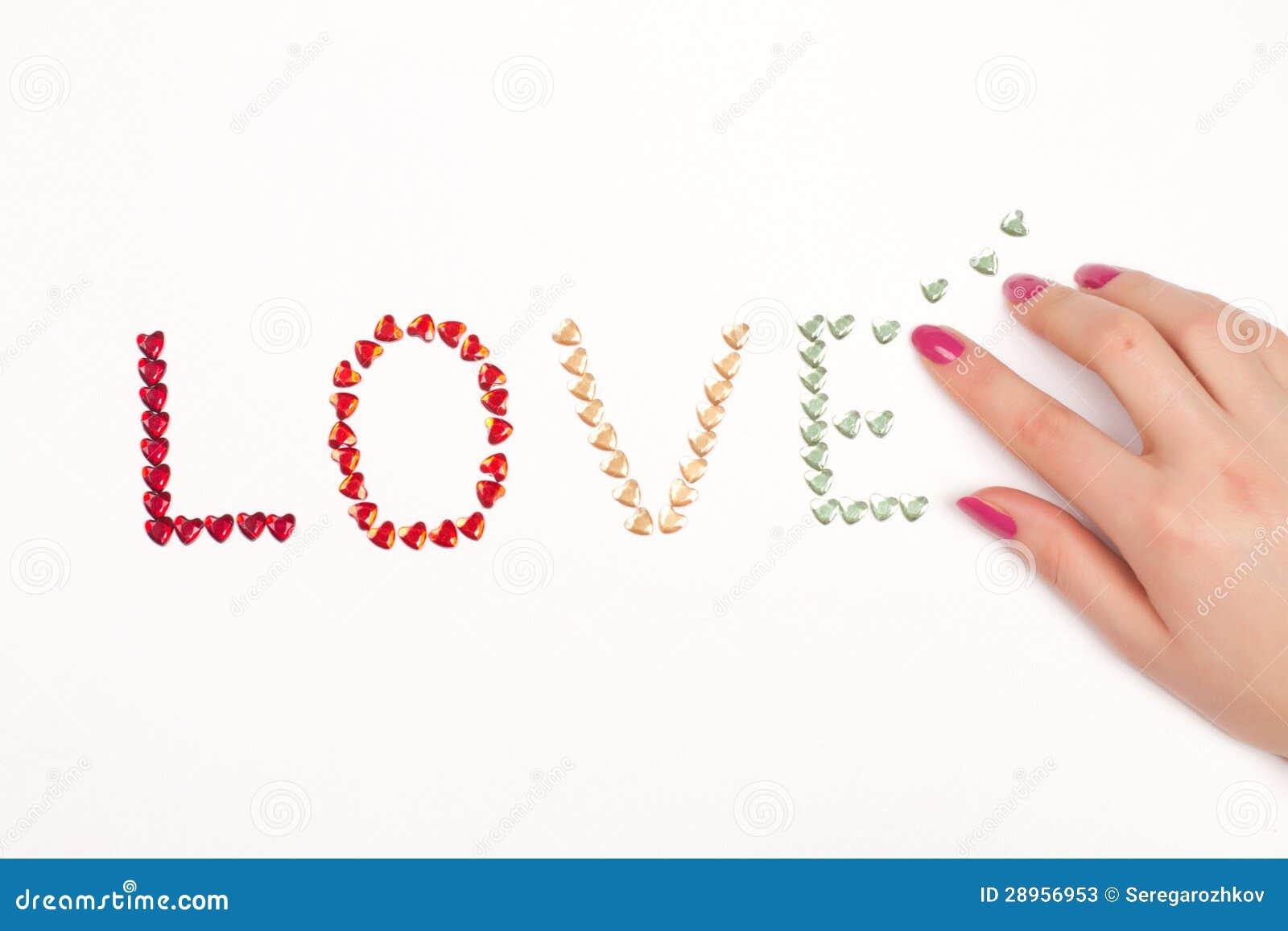 Ręka i miłość