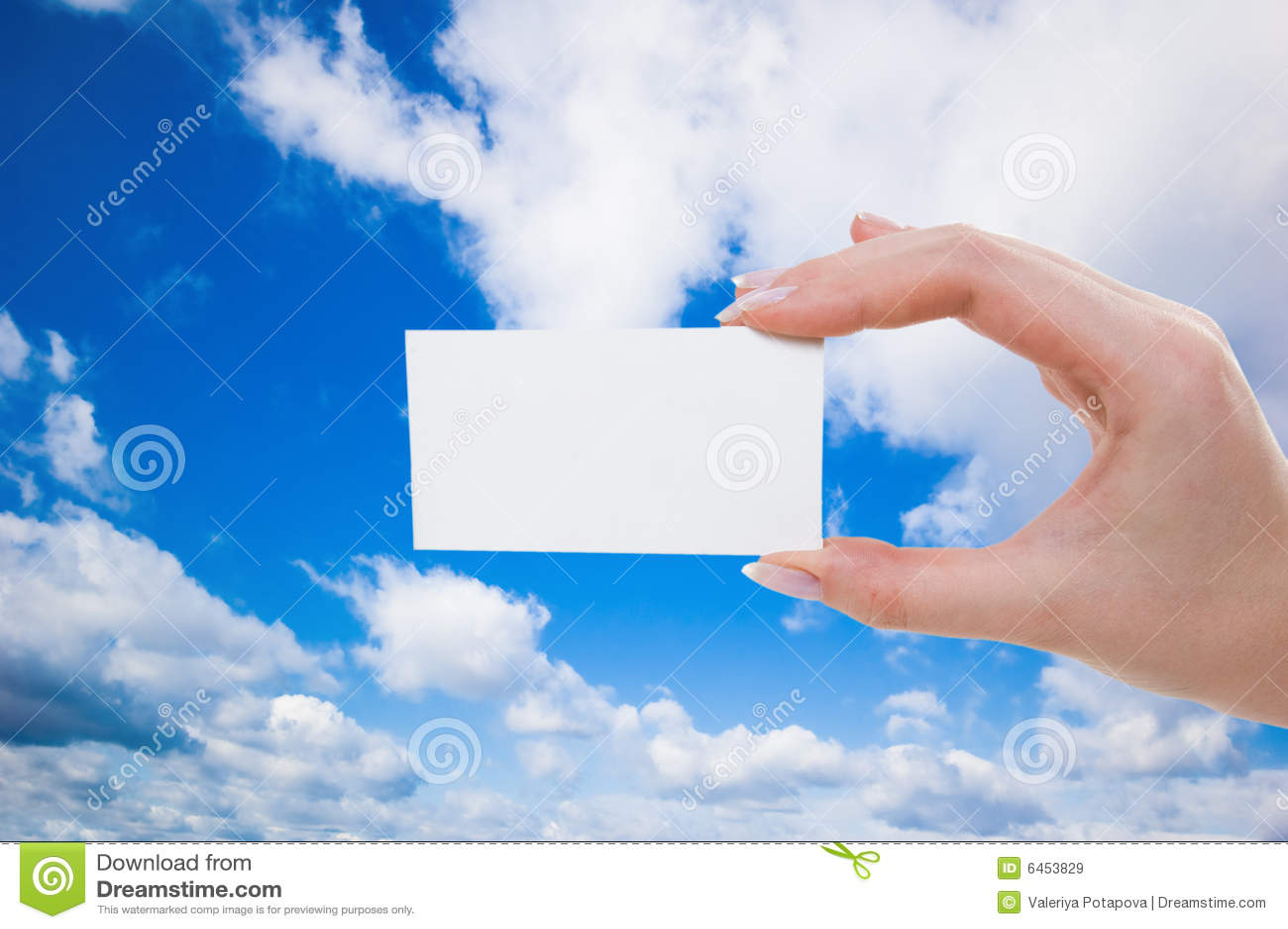 Ręka pustej karty