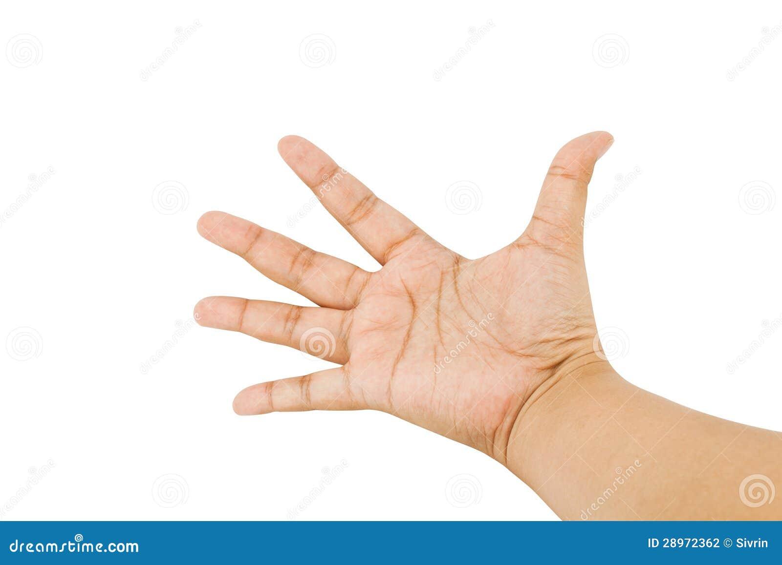 Ręka symbol