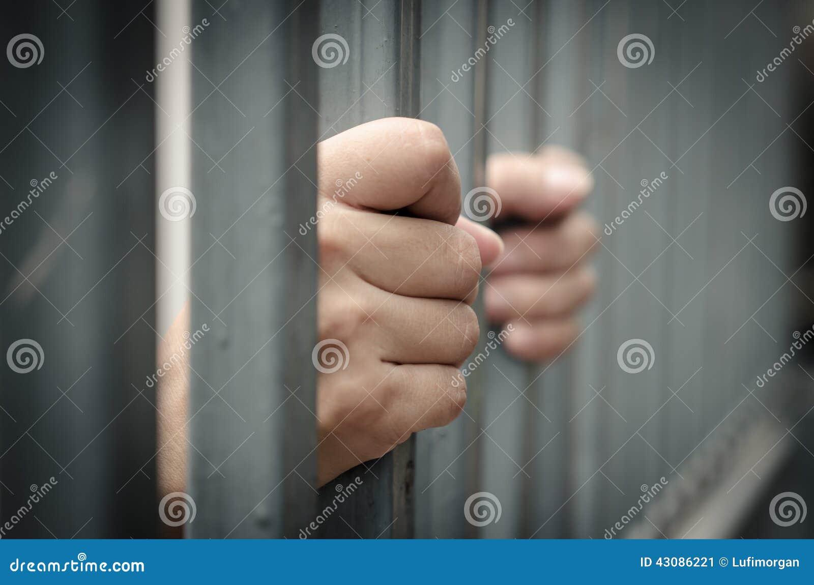 Ręka w więzieniu