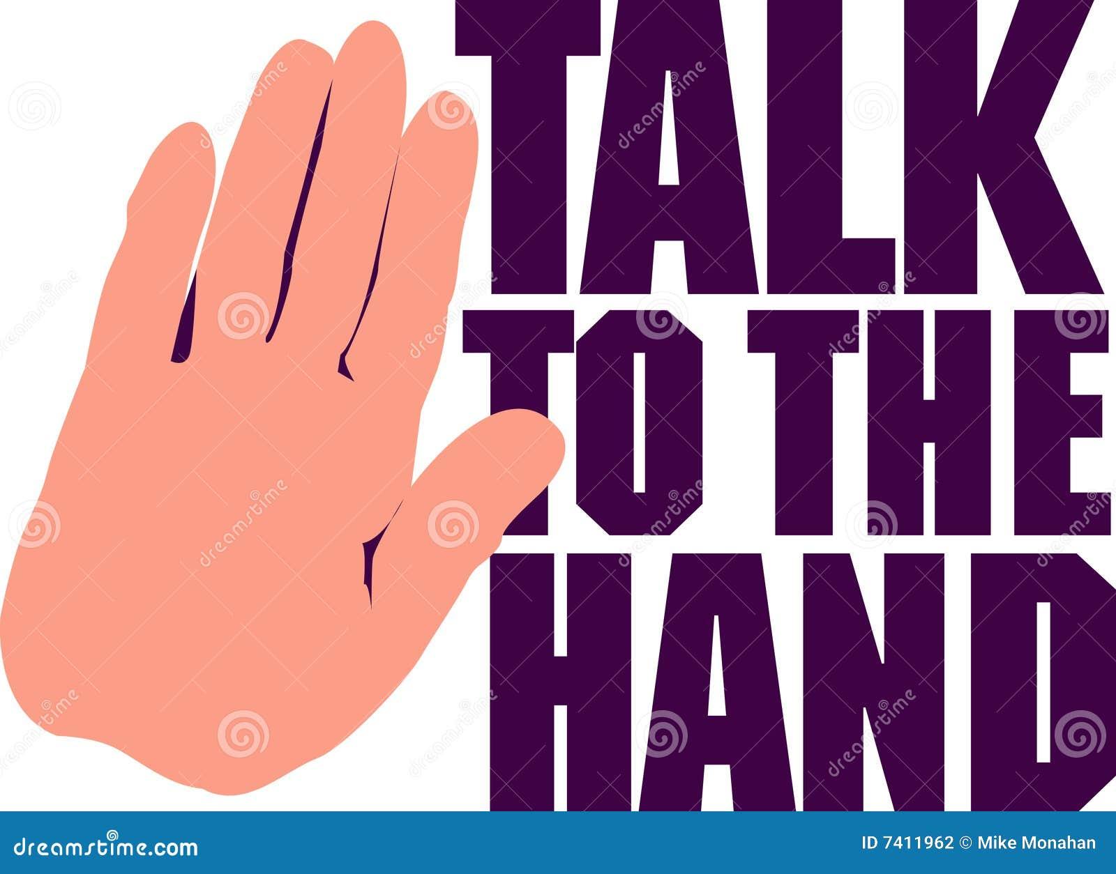 Ręki rozmowa