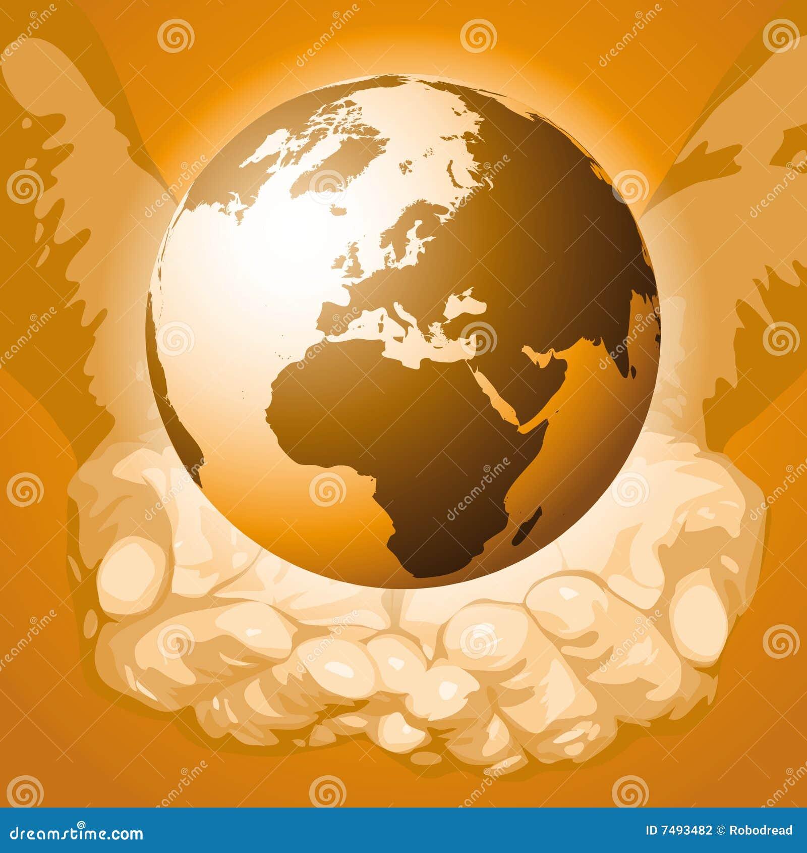 Ręki vector świat