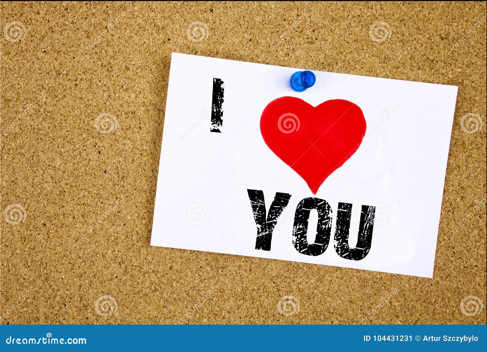 Ręki writing teksta podpisu inspiraci seans Kocham Dziękuję Ciebie pojęcia znaczenie Daje wdzięczności Docenia wiadomości Kochać
