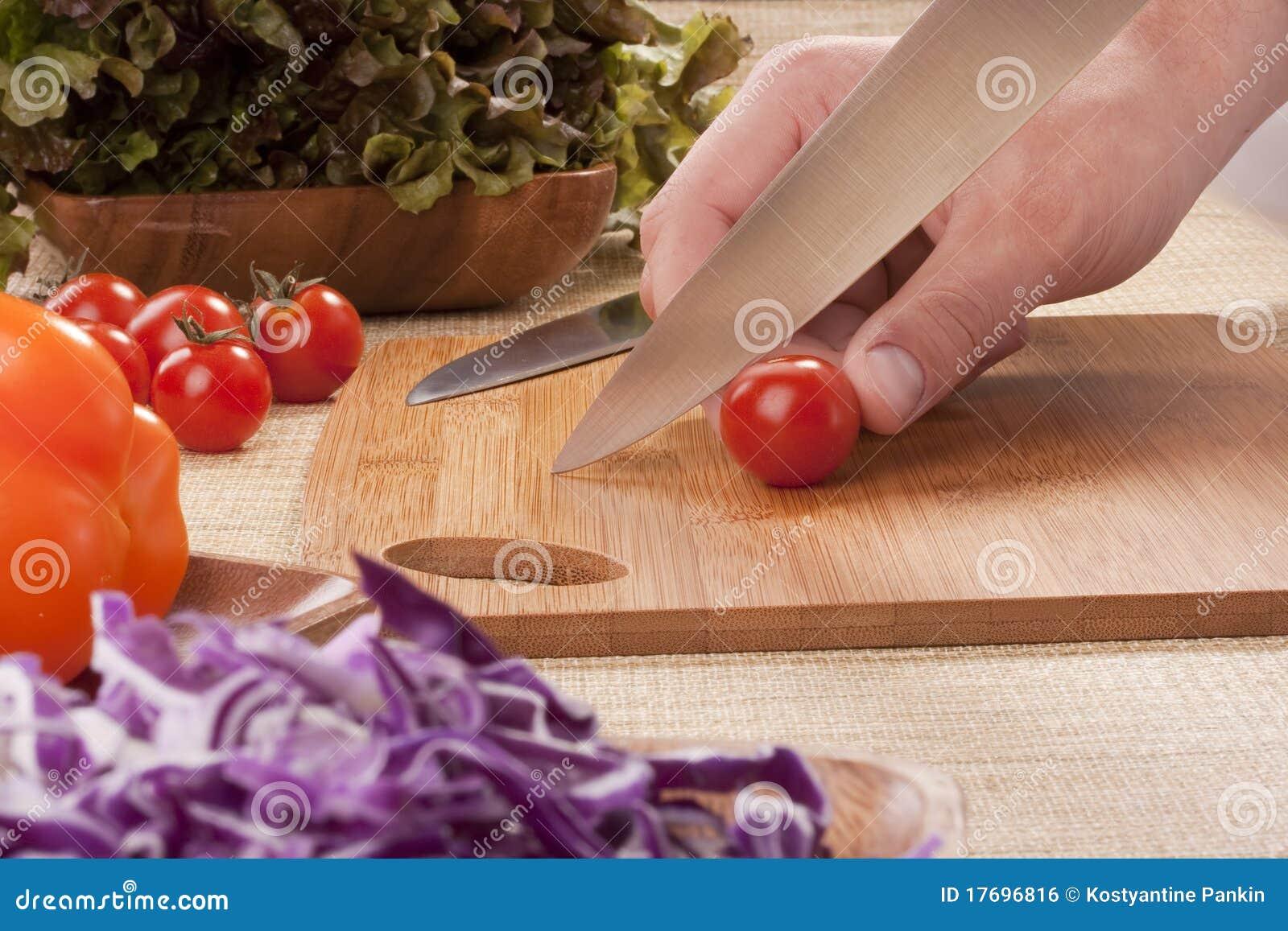 Rżnięci warzywa