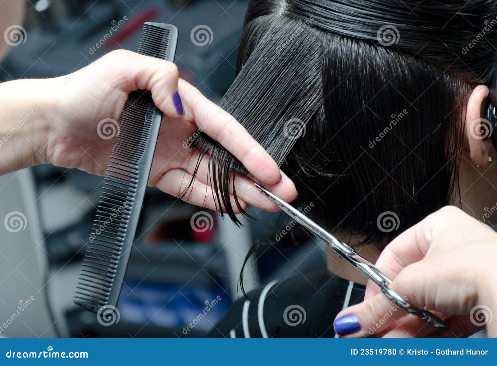 Rżnięty włosy