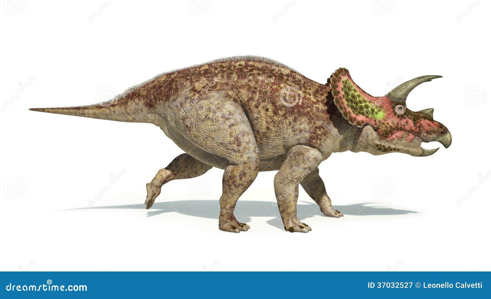R динозавра трицератопс photorealistic и научно правильный