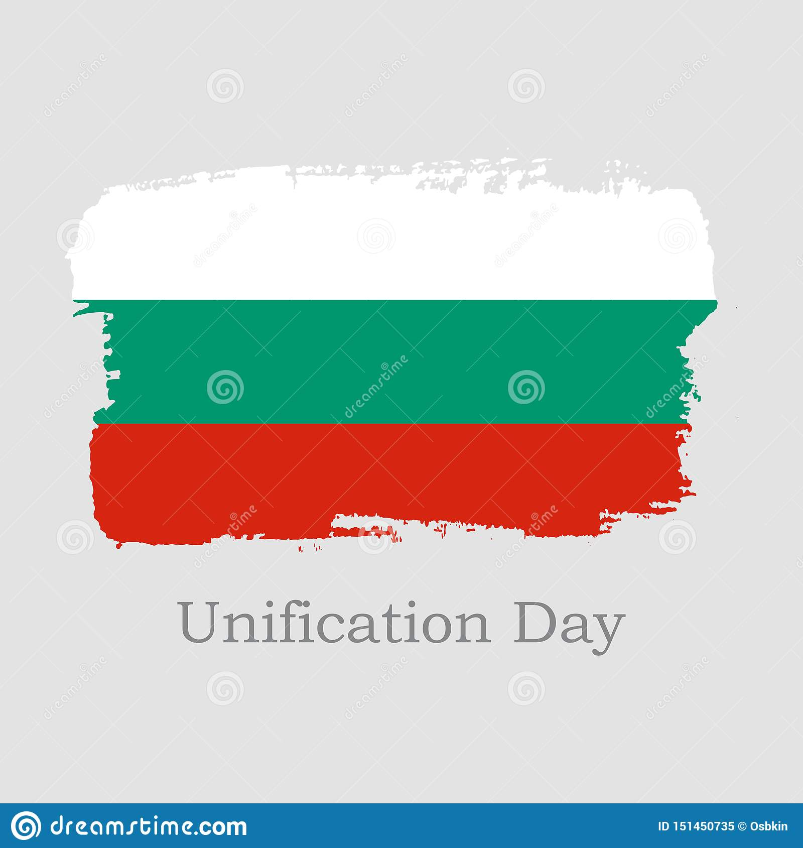 R 手凹道保加利亚旗子